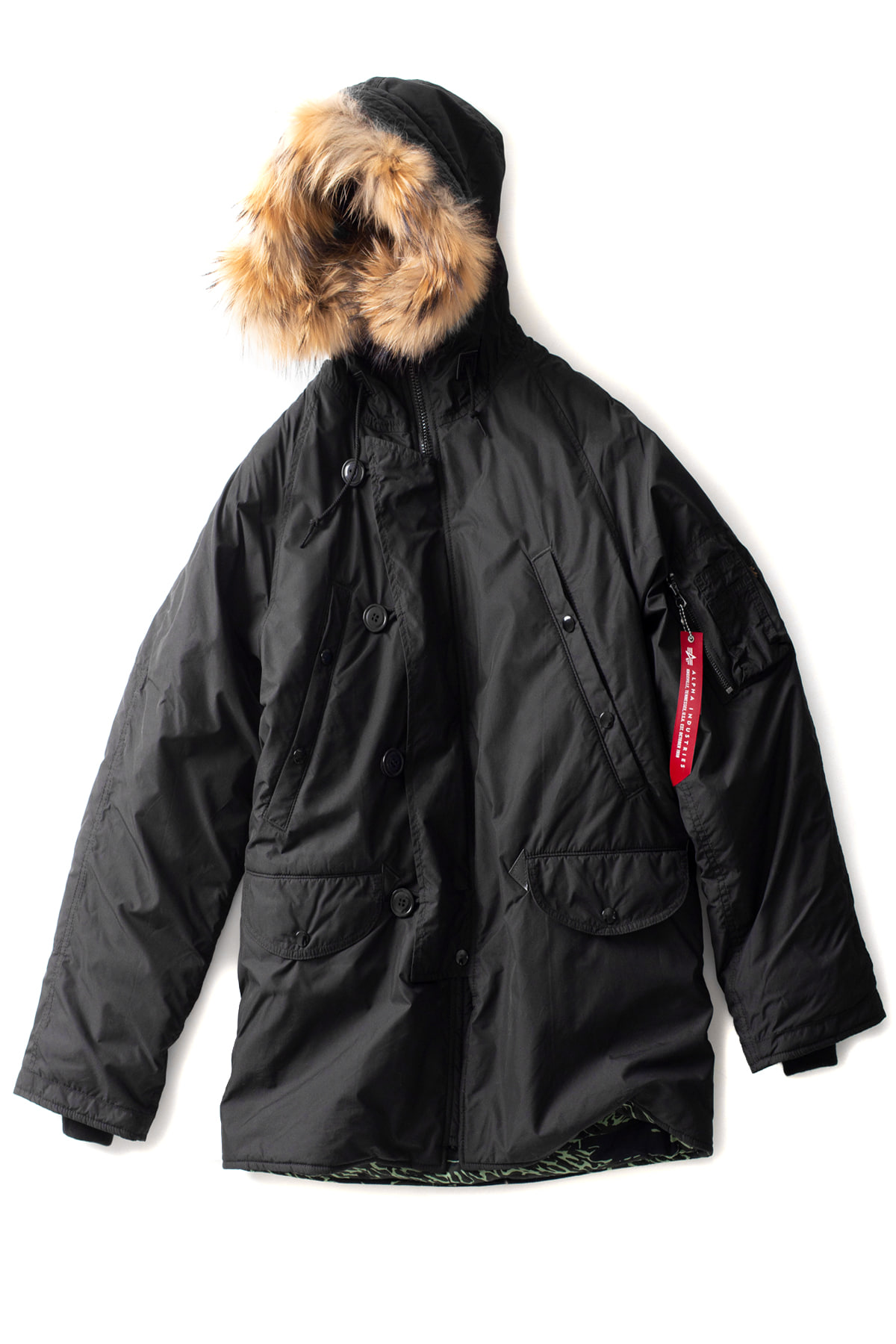 N.HOOLYWOOD x ALPHA INDUSTRIES : 982-CO01-064 (Black)