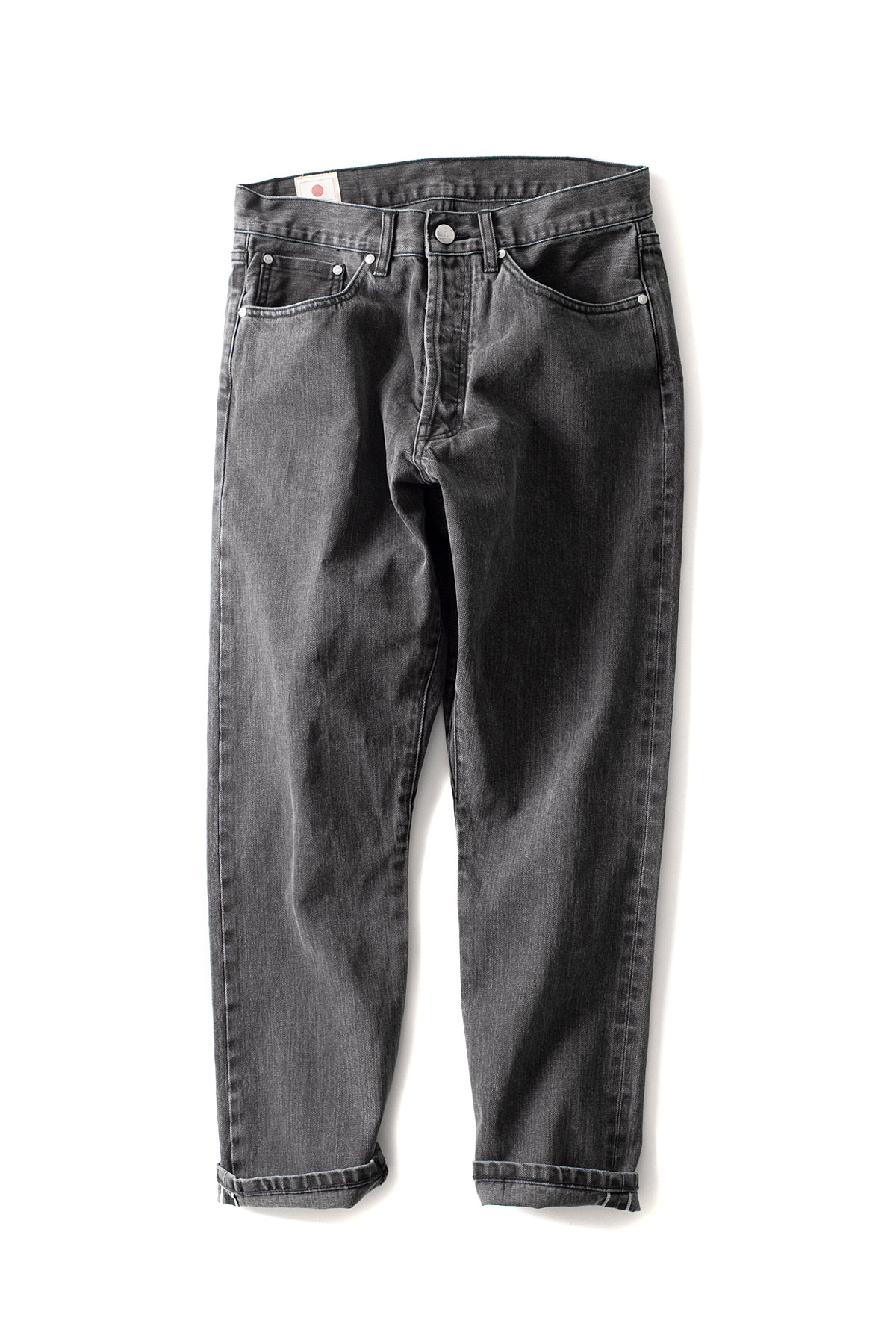 HAN KJOBENHAVN : Drop Crotch Jeans (Black Stone Wash)
