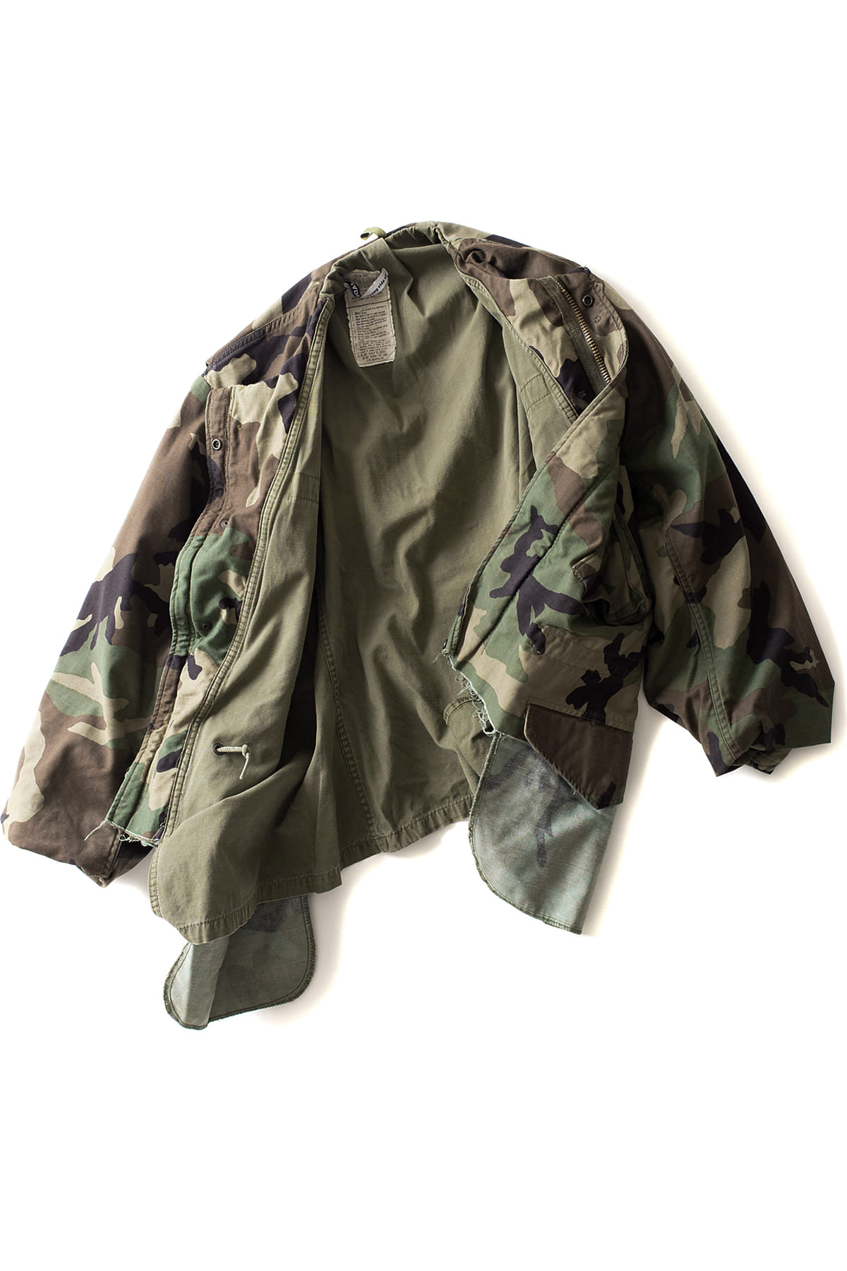 MADE by Sunny side up : M-65 Camo Jacket (C)