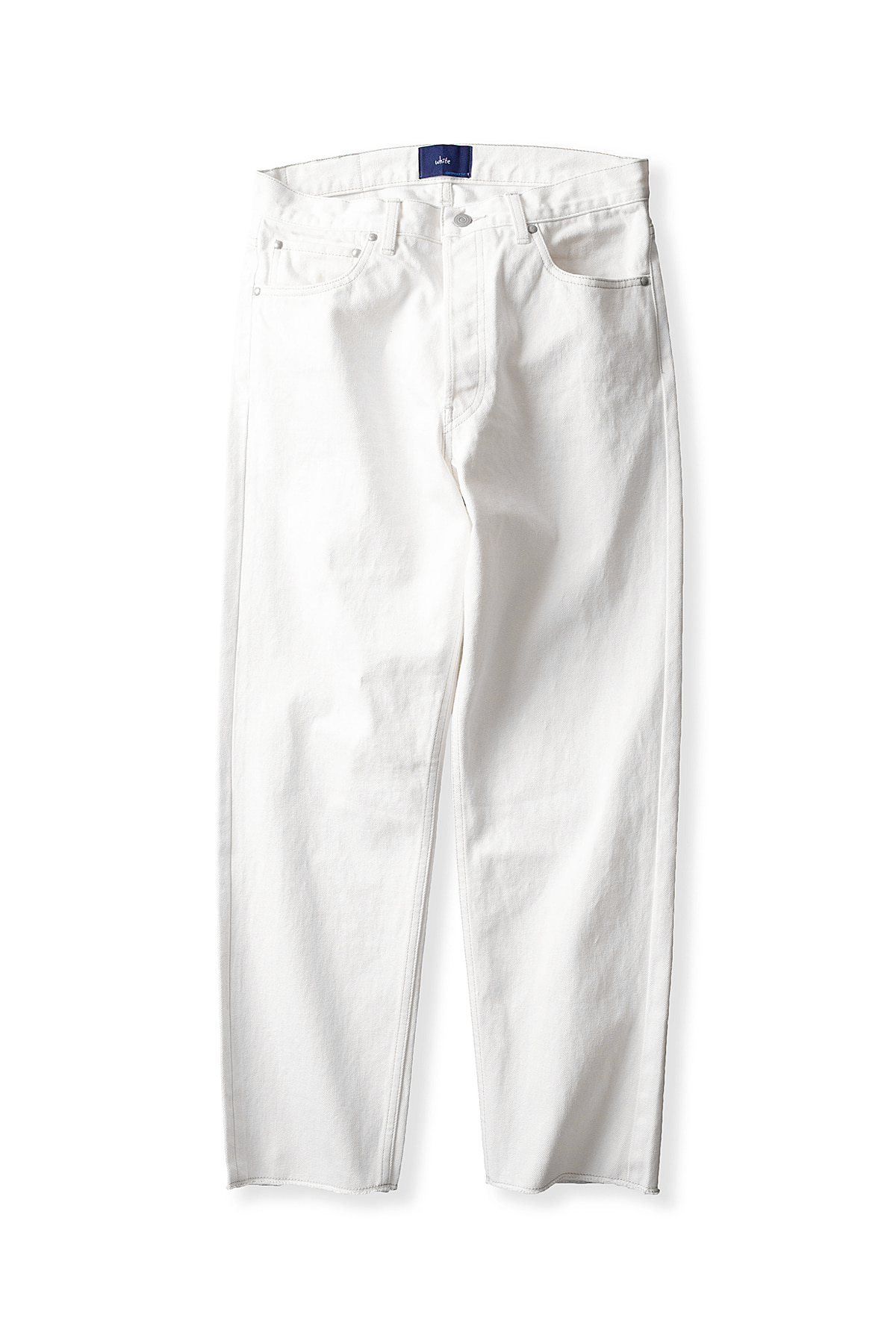 Ordinary fits #WHITE : New John Denim One Wash (White)