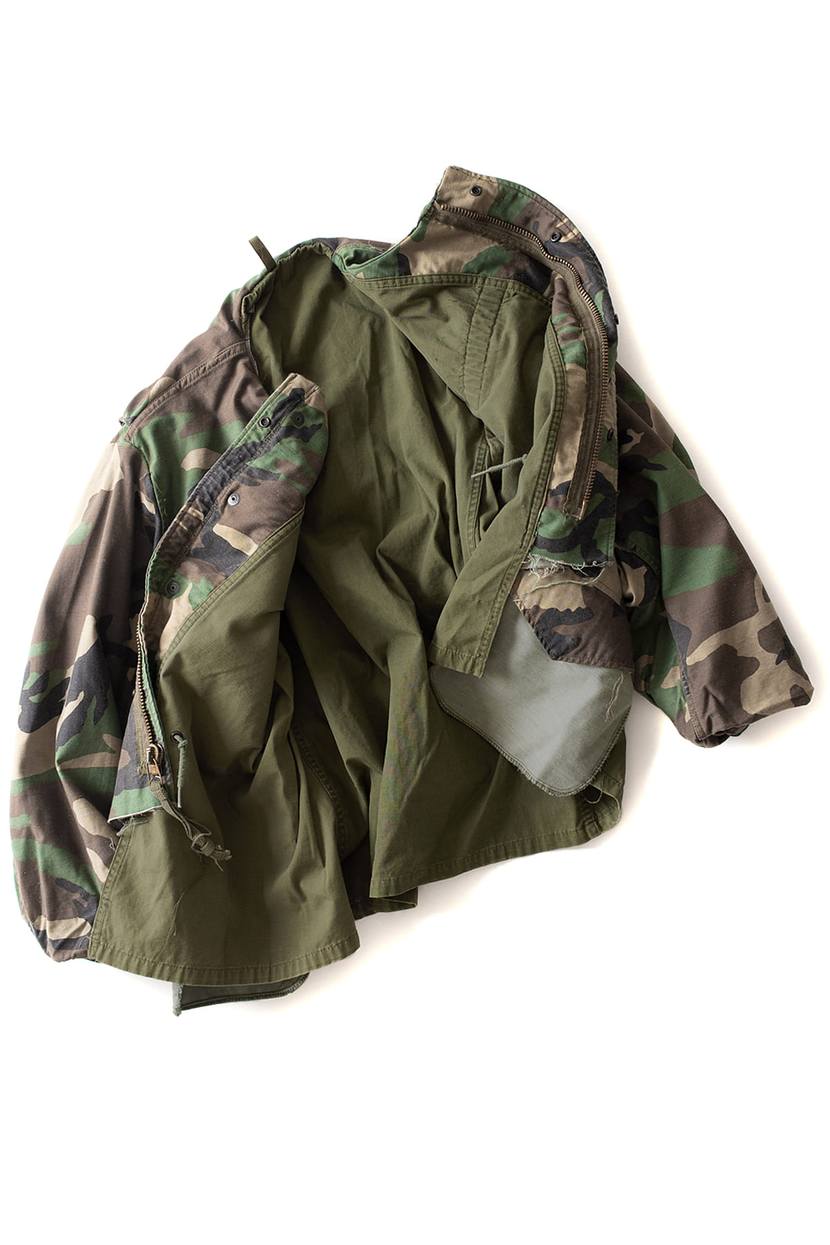 MADE by Sunny side up : M-65 Camo Jacket (A)