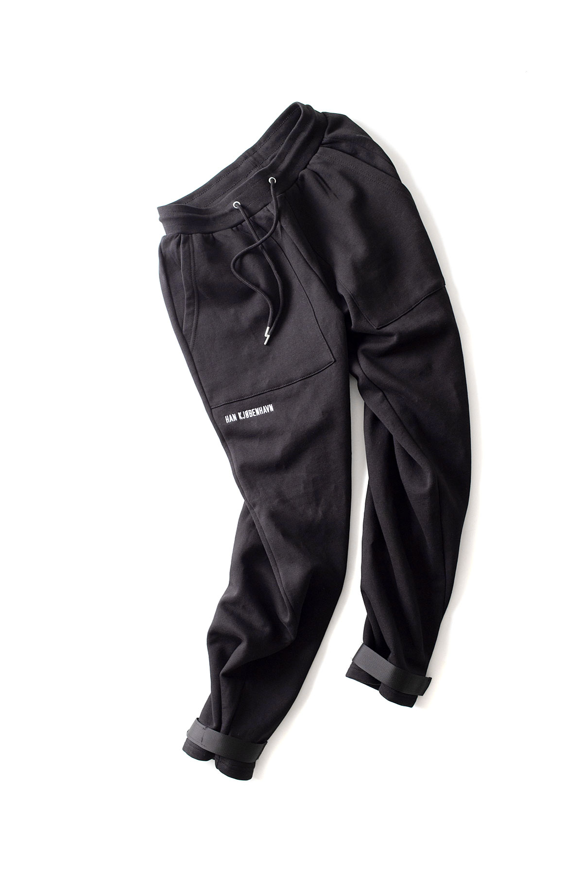 HAN KJOBENHAVN : Sweat Pants (Black Logo)