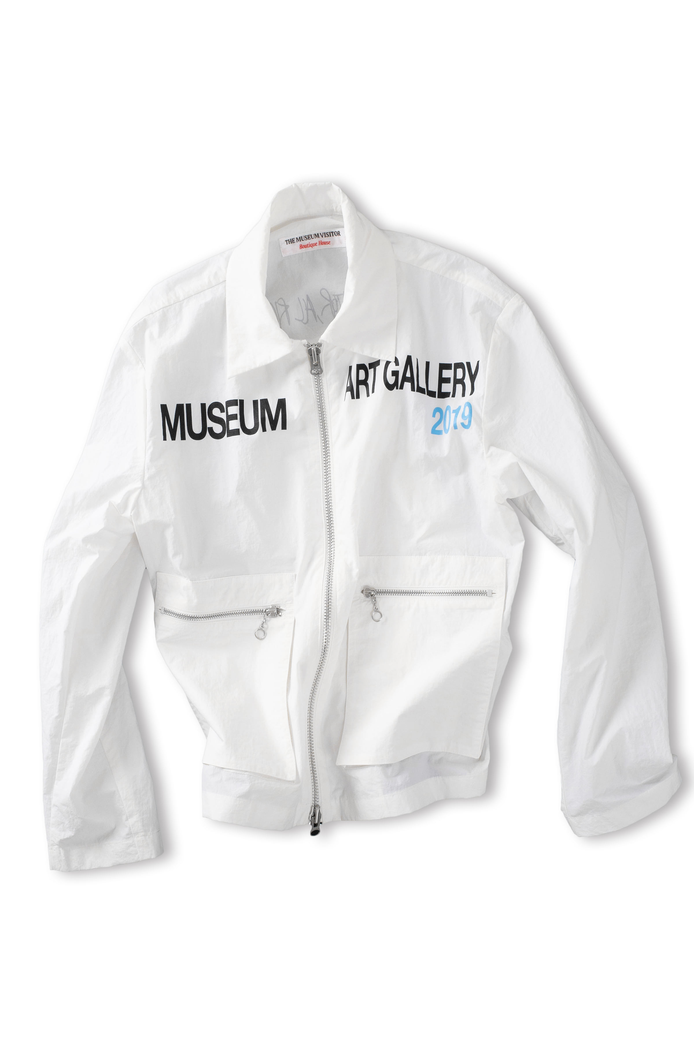 THE MUSEUM VISITOR : Museum Art Gallery Blouson (White)