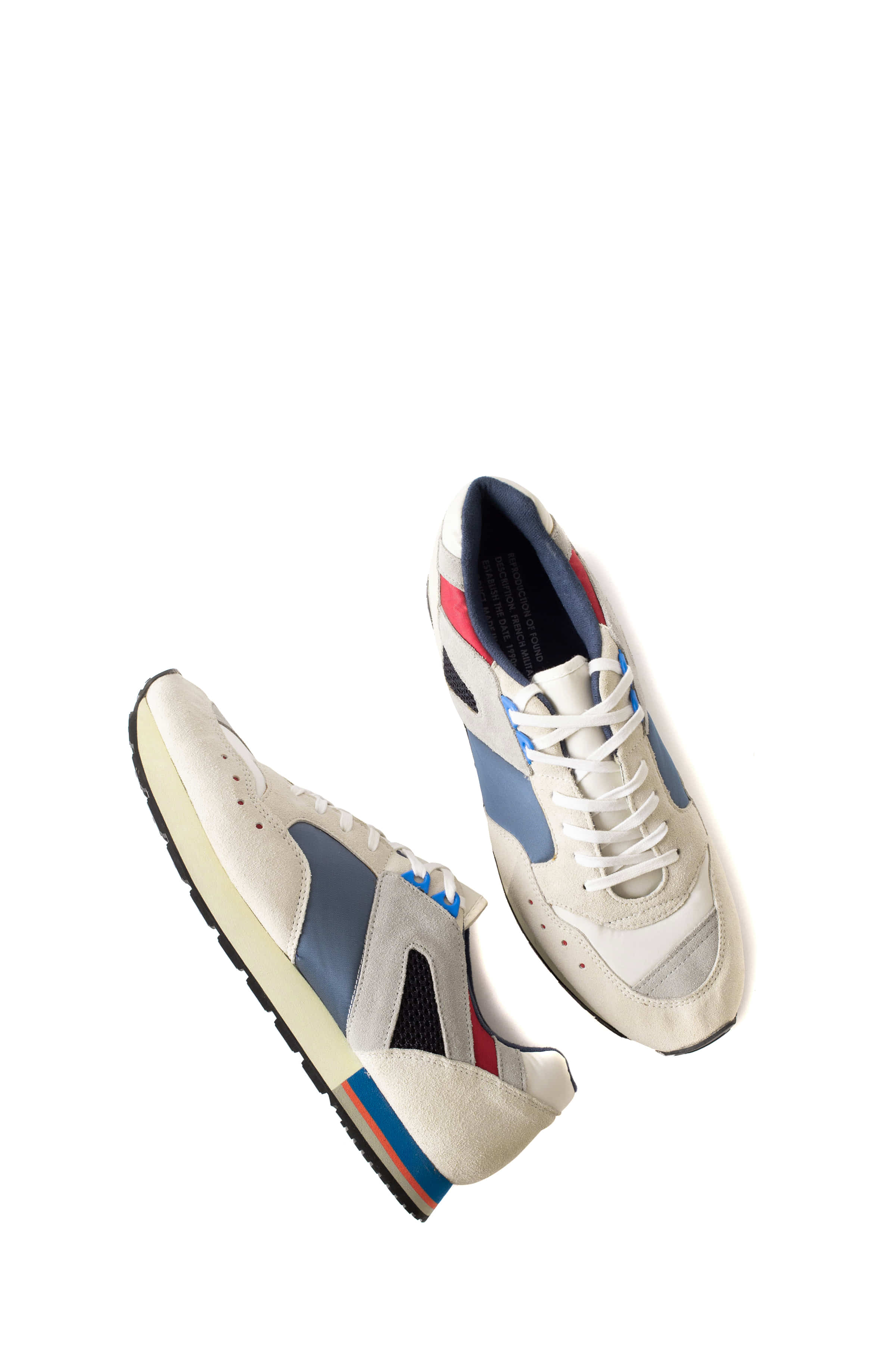 REPRODUCTION OF FOUND : French Military Trainer (White)