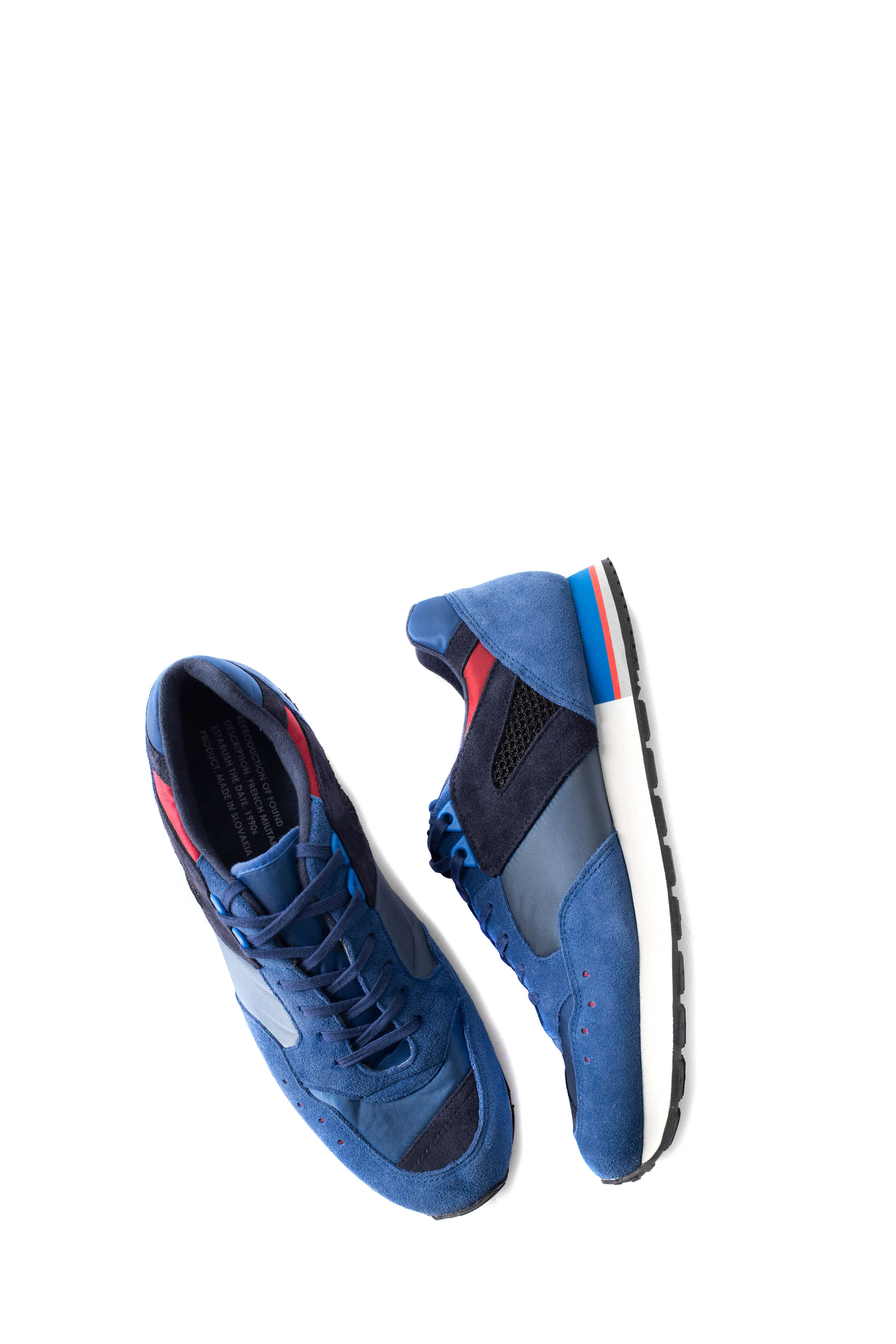 REPRODUCTION OF FOUND : French Military Trainer (Blue)