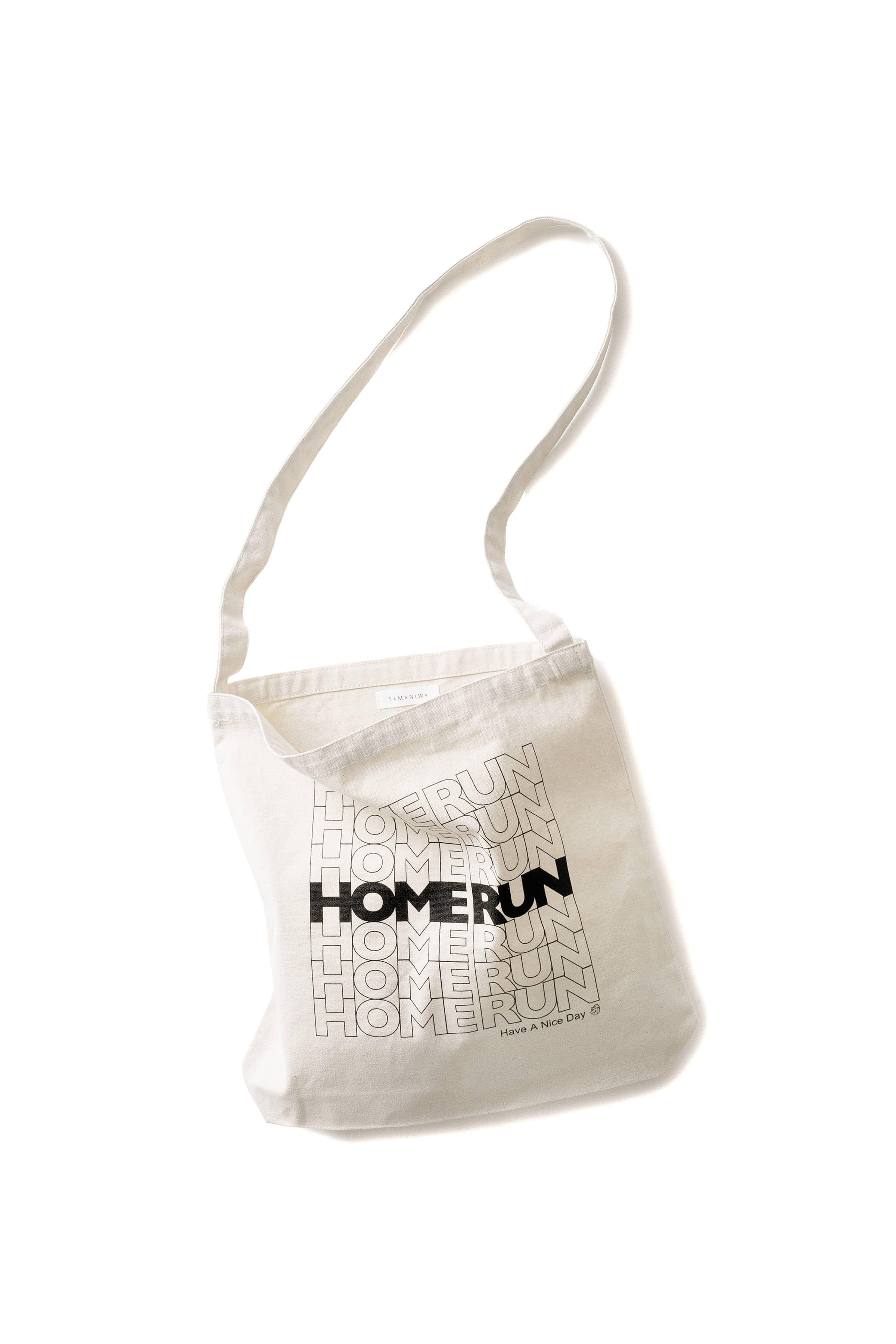 TAMANIWA : Homerun Bag (Black)