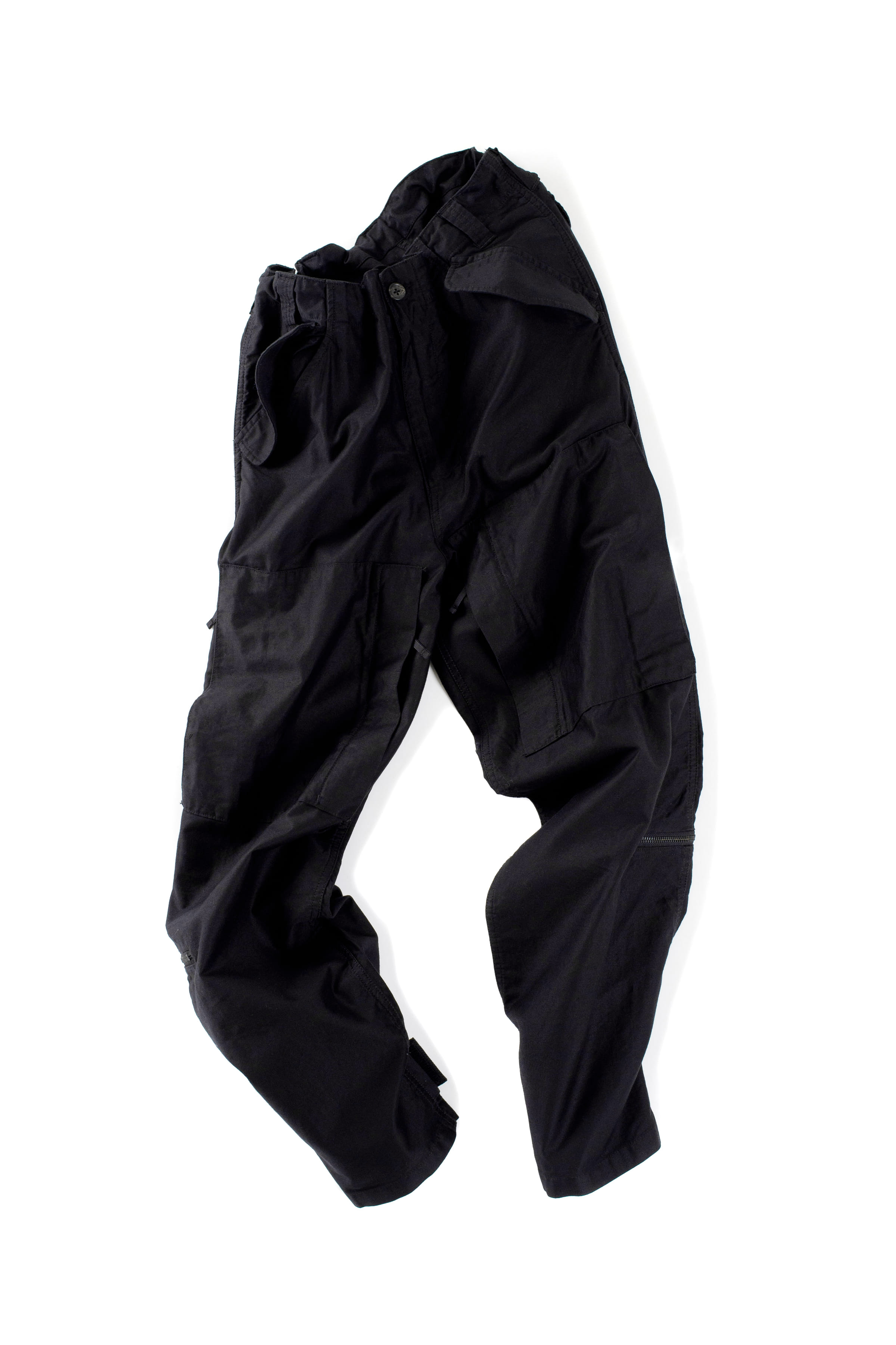 CLAMP : Helicopter Pants (Black)