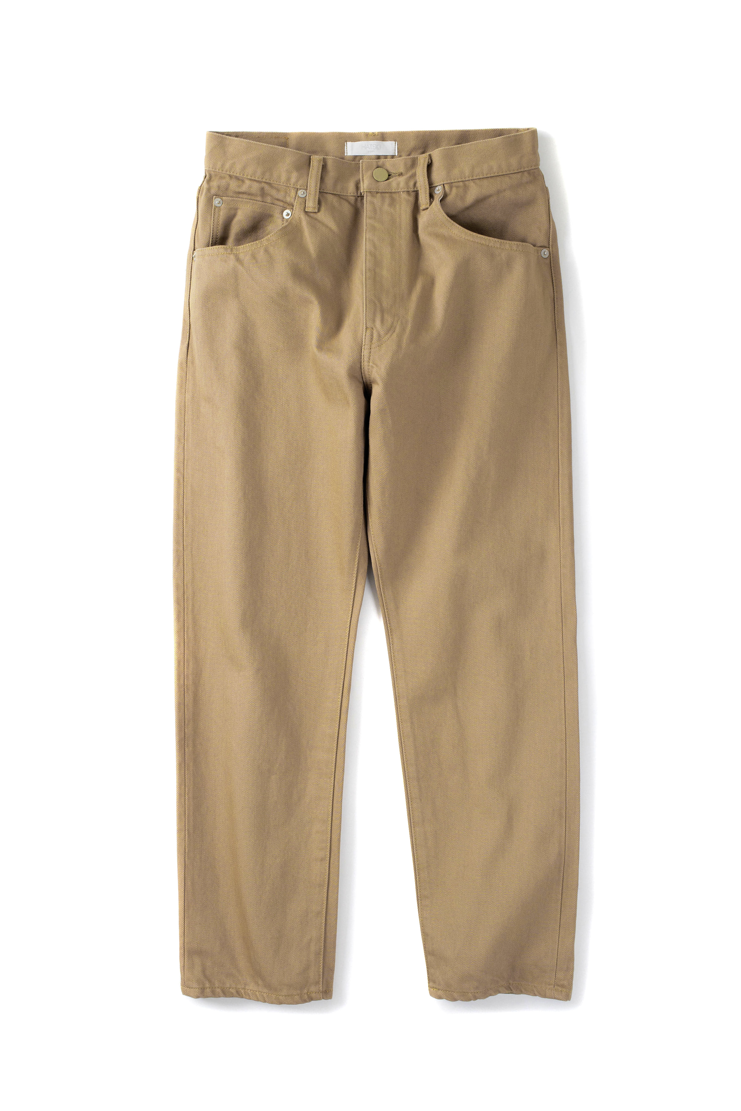 HATSKI : 18010 Regular Tapered Denim (Beige)