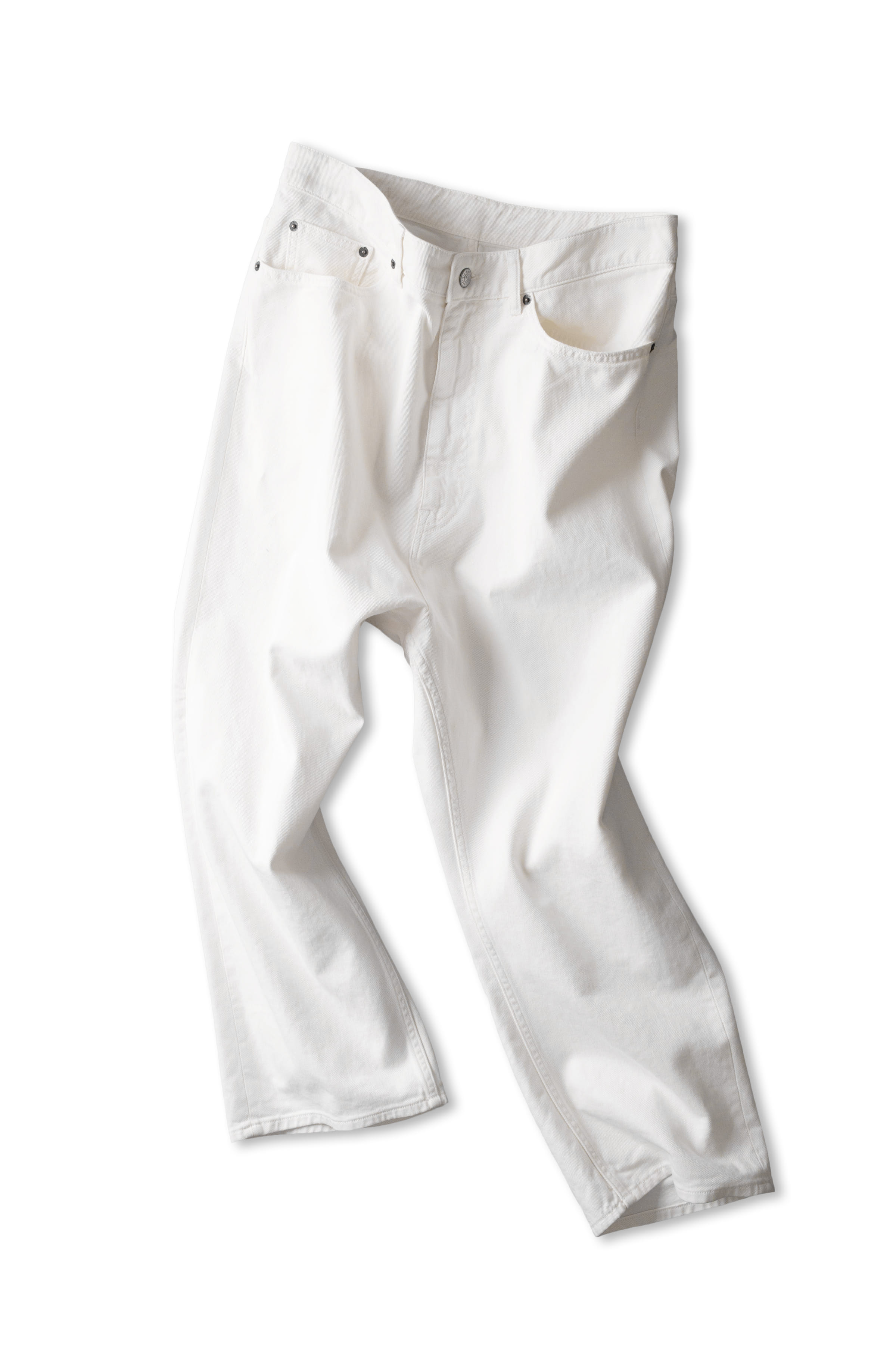 MM6 Maison Margiela : Pants 5 Pocket (White)