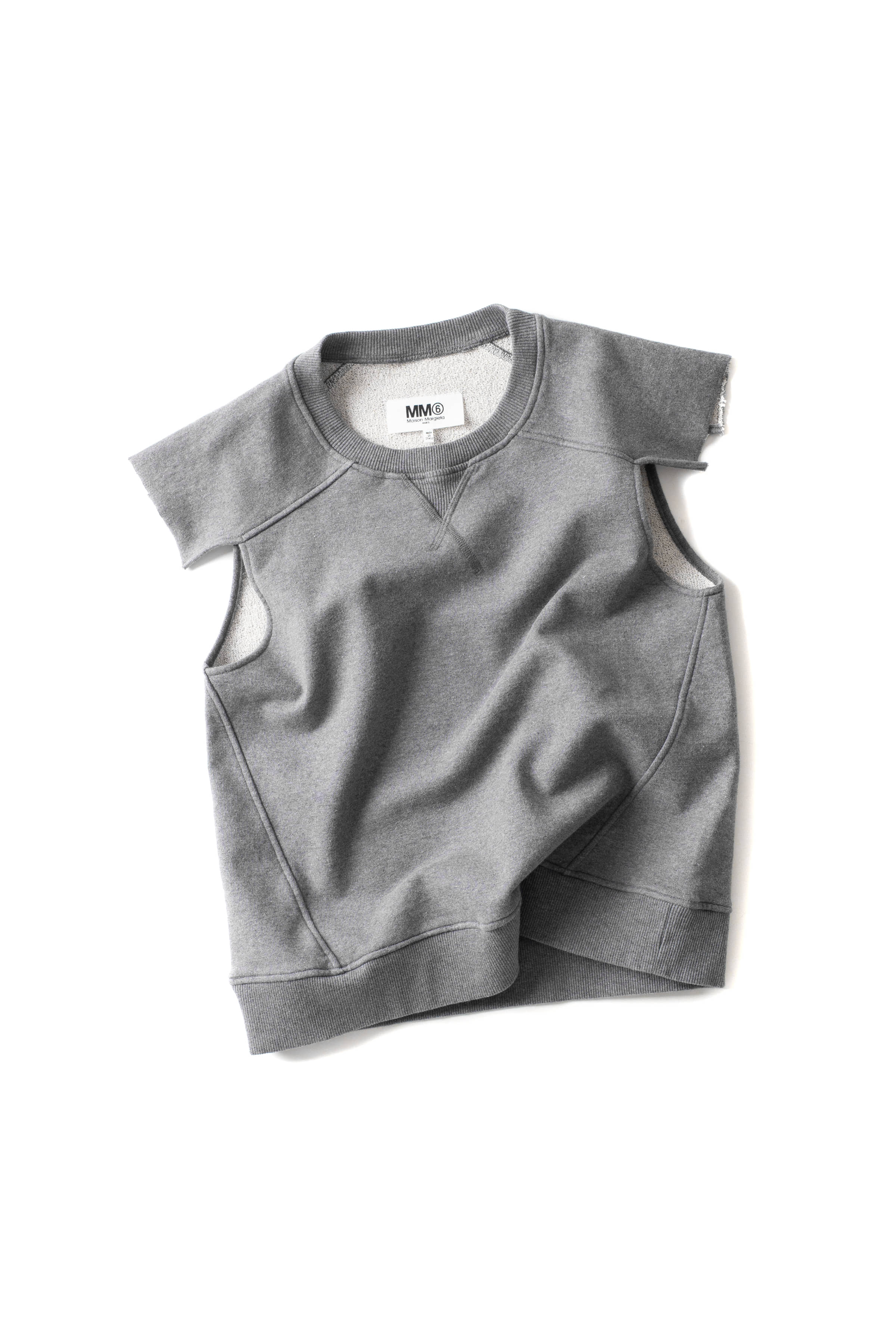 MM6 Maison Margiela : Sweatshirt for Women (Charcoal)