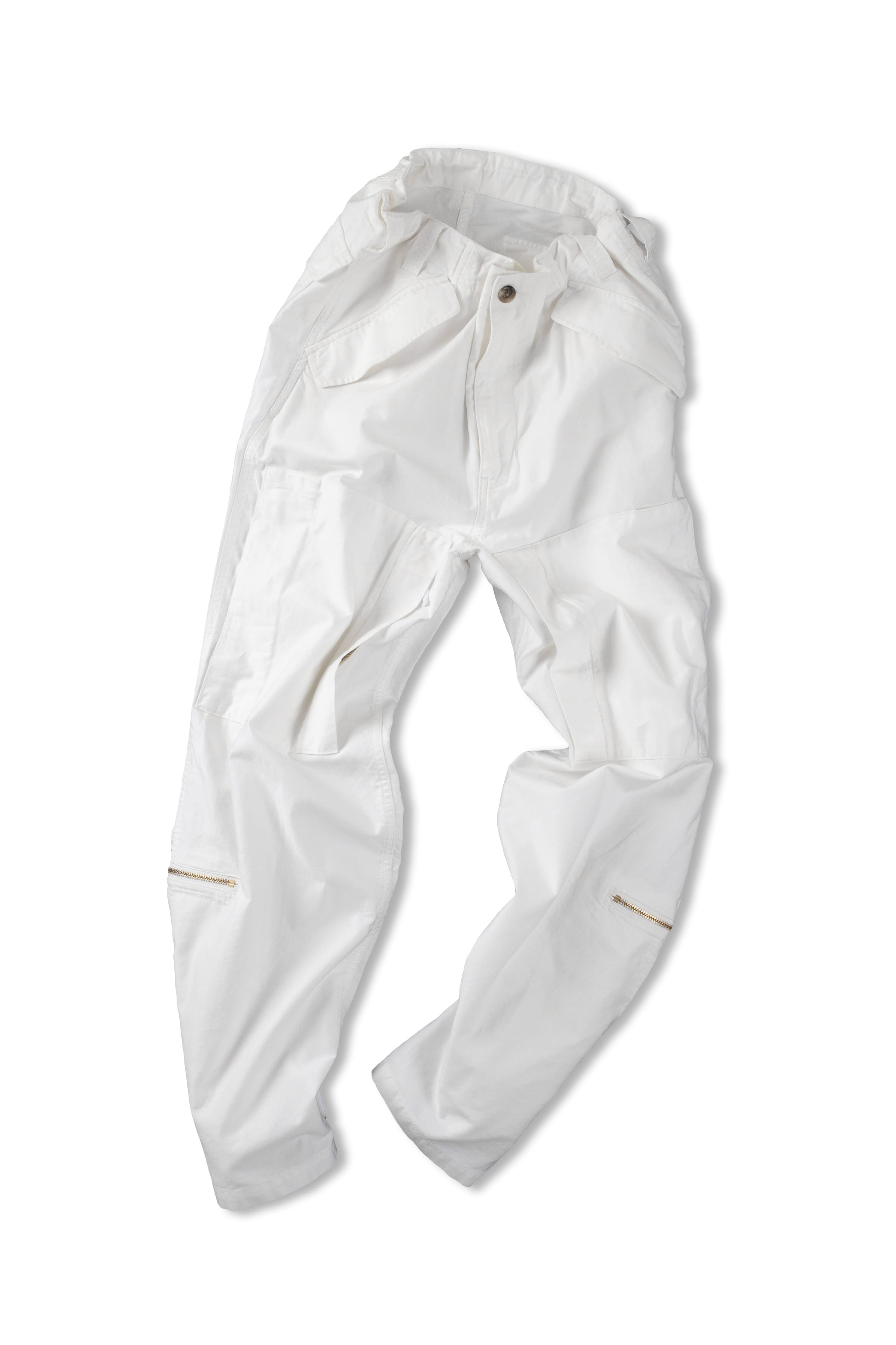 CLAMP : Helicopter Pants (White)