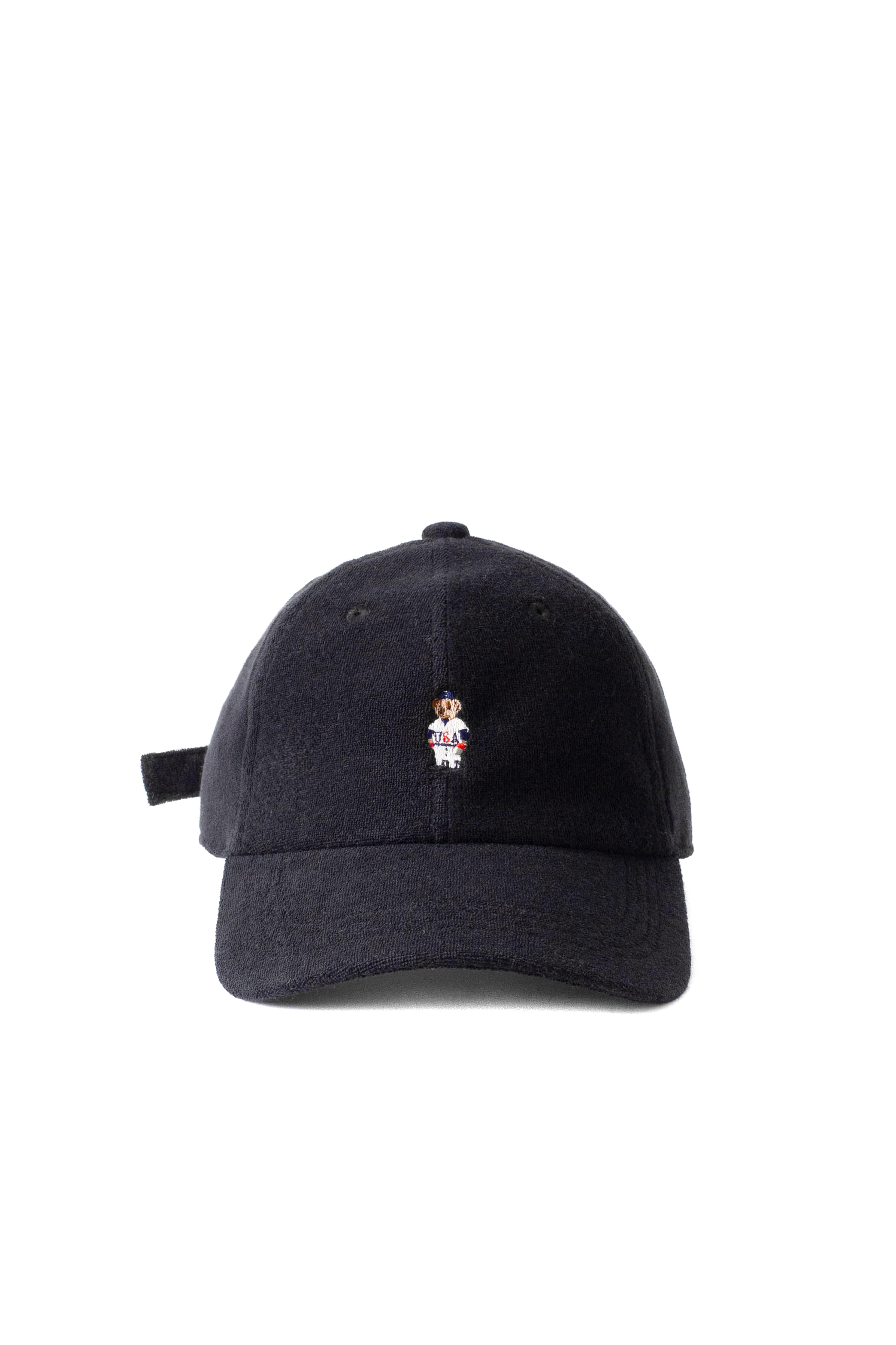 Infielder Design : Pile Bear Cap (Black)