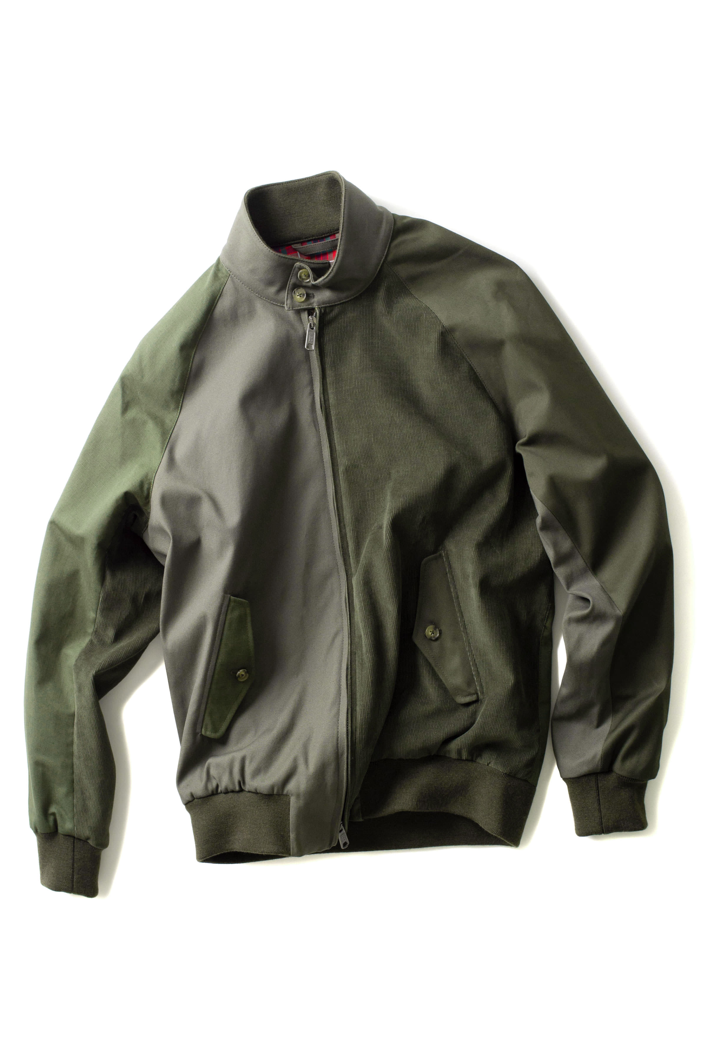 Baracuta x Engineered Garments : G9 Combo Fabric Daiki (Olive)