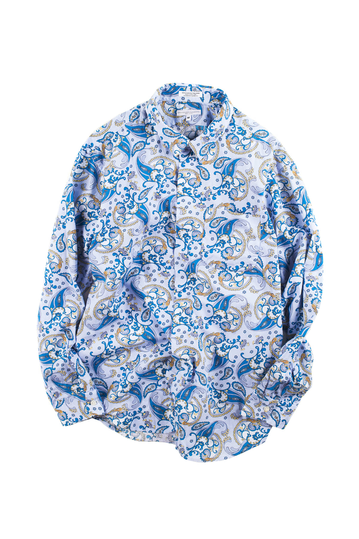 Engineered Garments : Short Collar Shirt (Blue)
