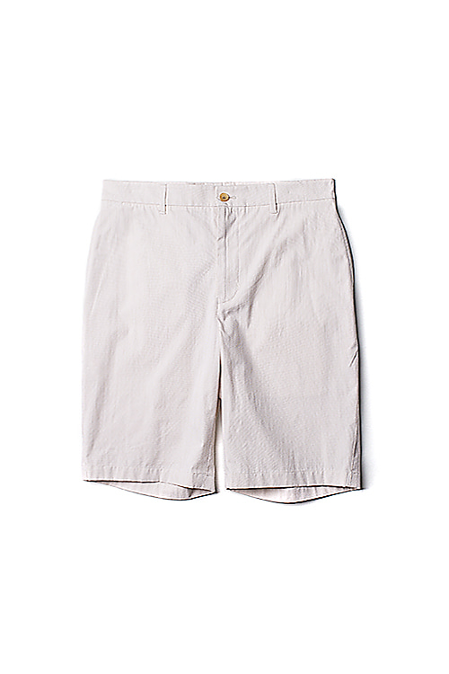 hanyounghuun : Bermuda shorts with speacial back pocket (Beige)
