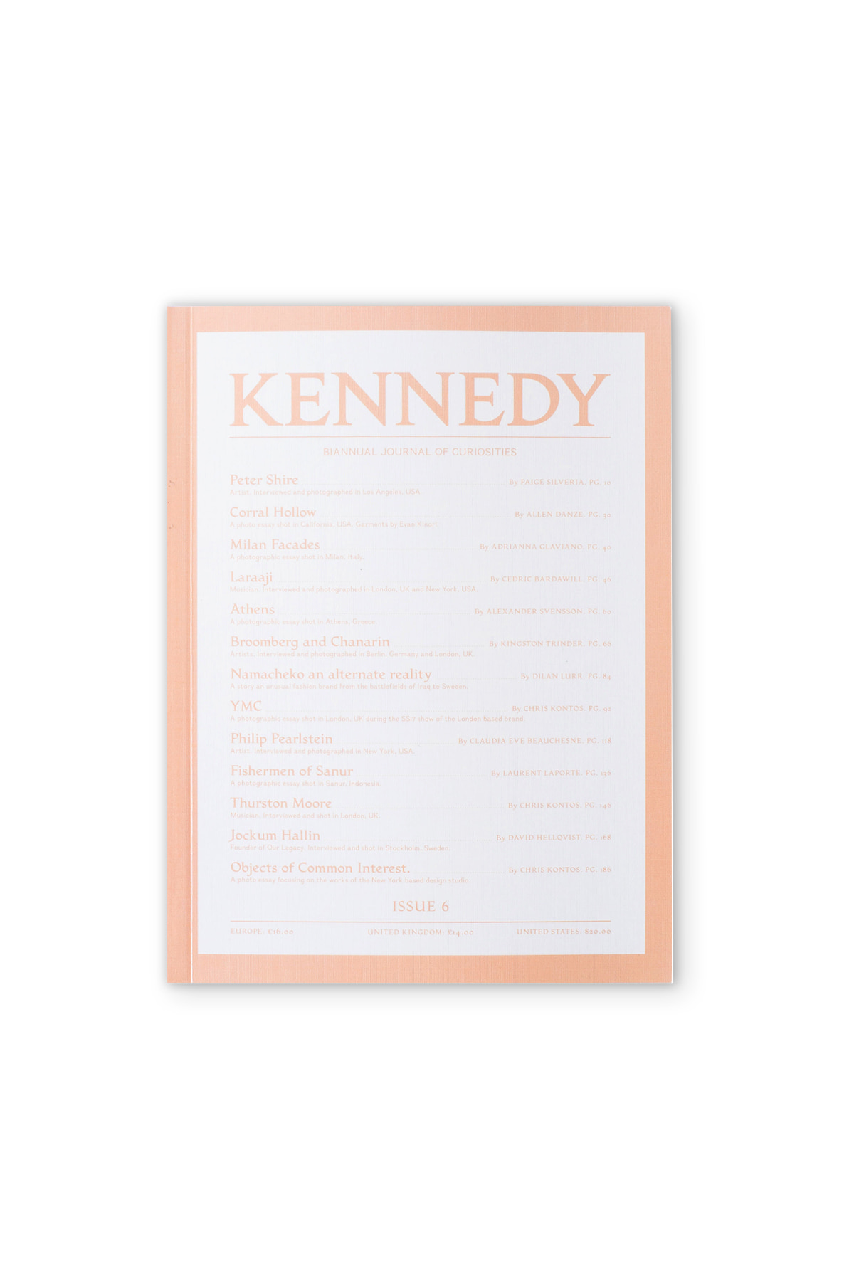 KENNEDY MAGAZINE : Issue. 06