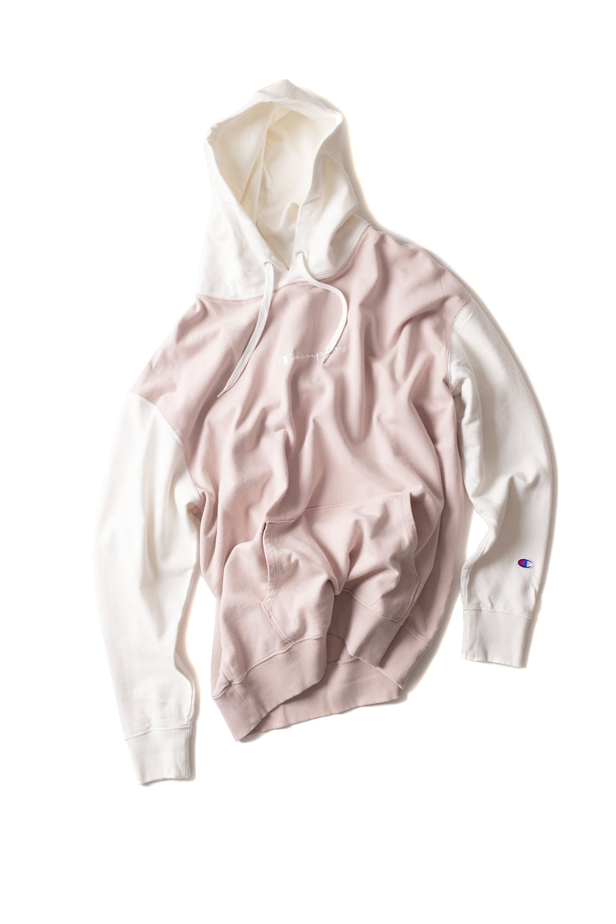 Champion : Pullover Wet Parker (Pink)