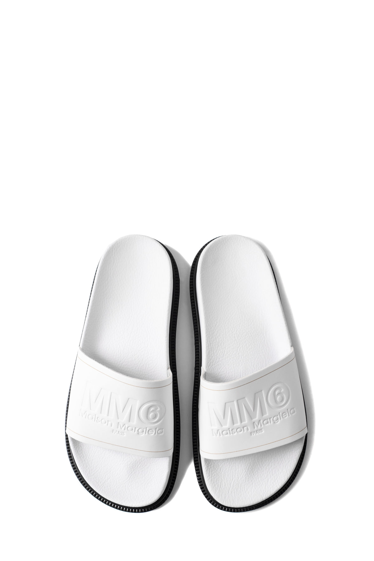 MM6 Maison Margiela : Slipper (White)