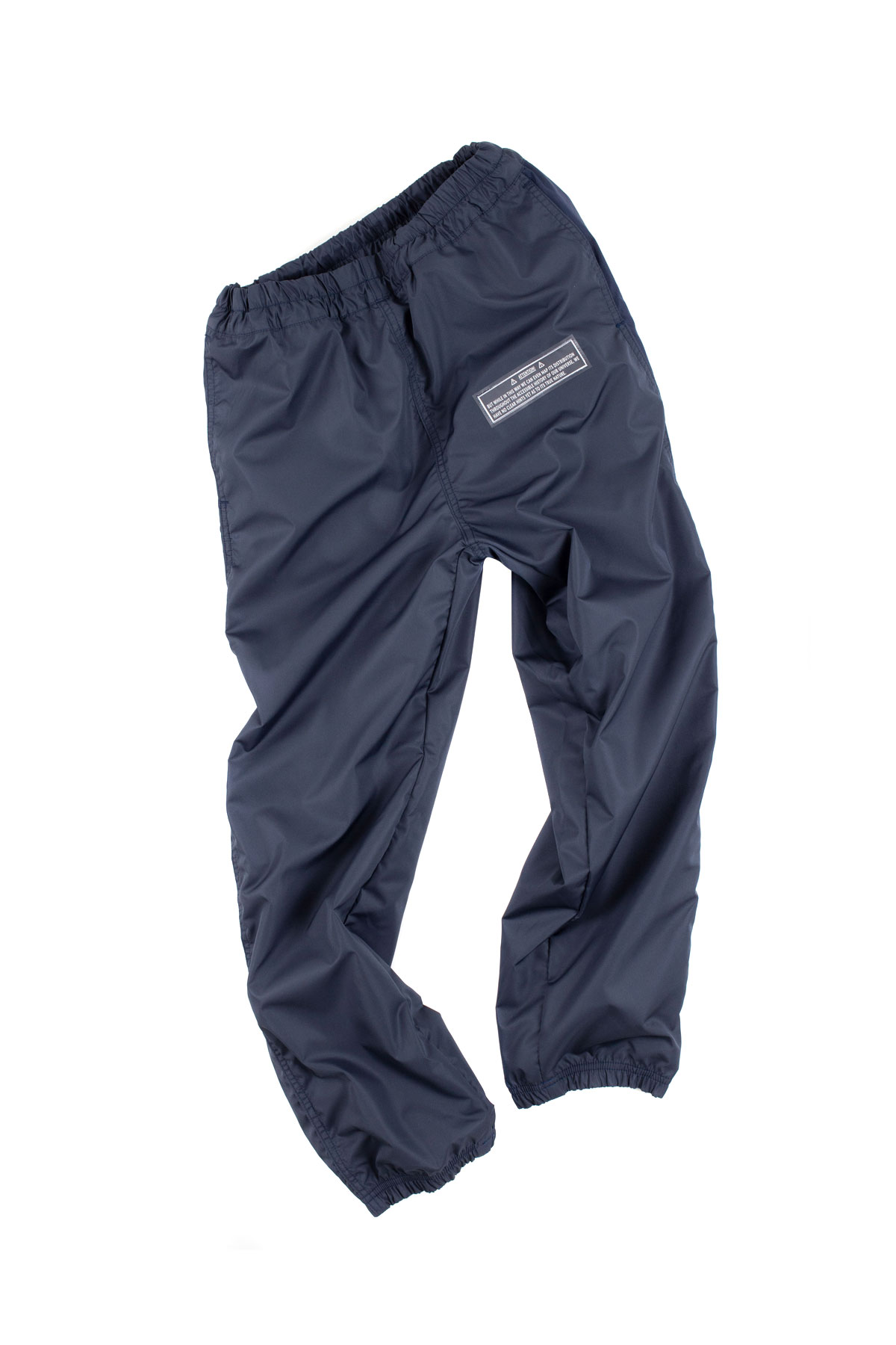 JieDa : Switching Nylon Pants (Navy)