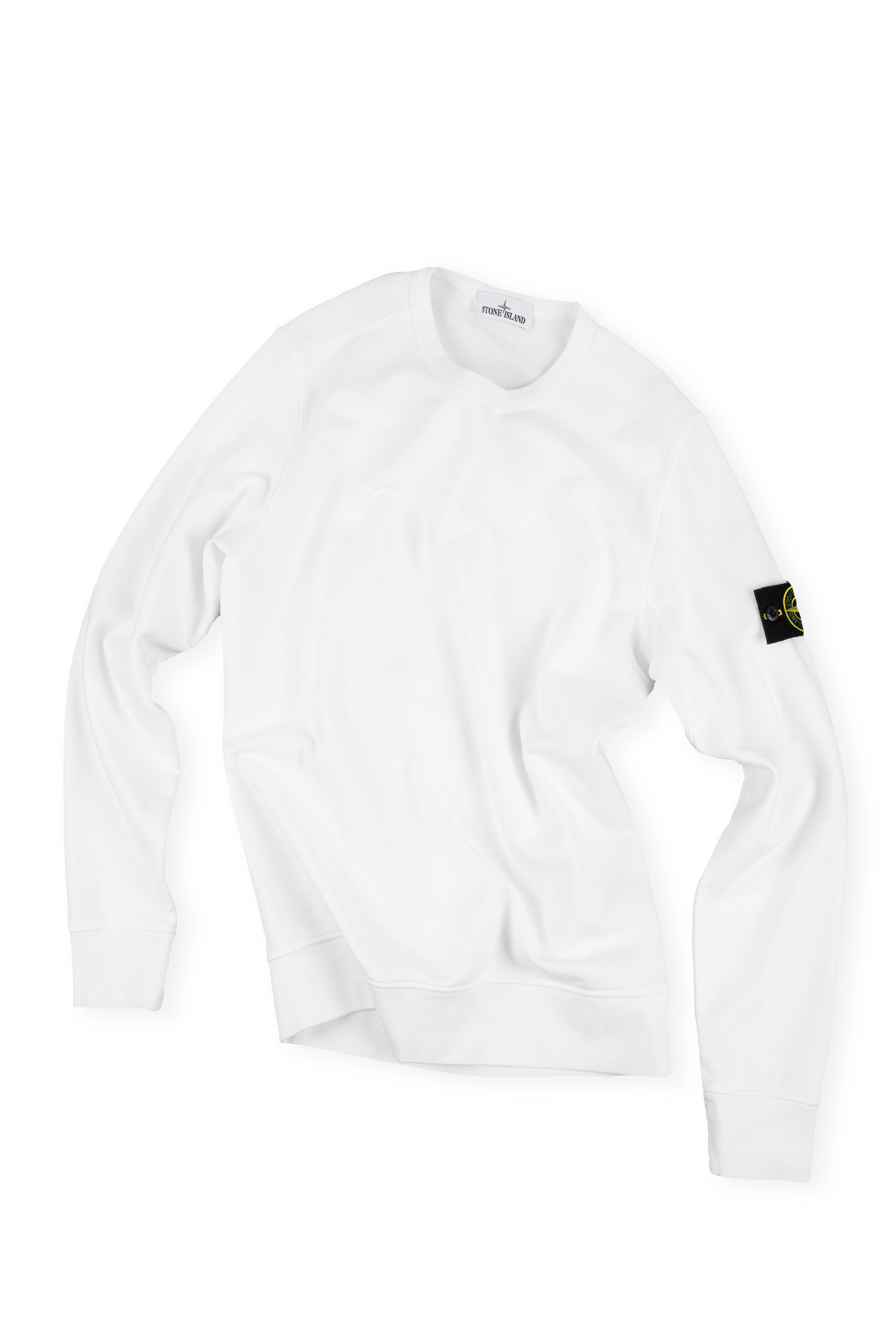 Stone Island : Man To Man (White)