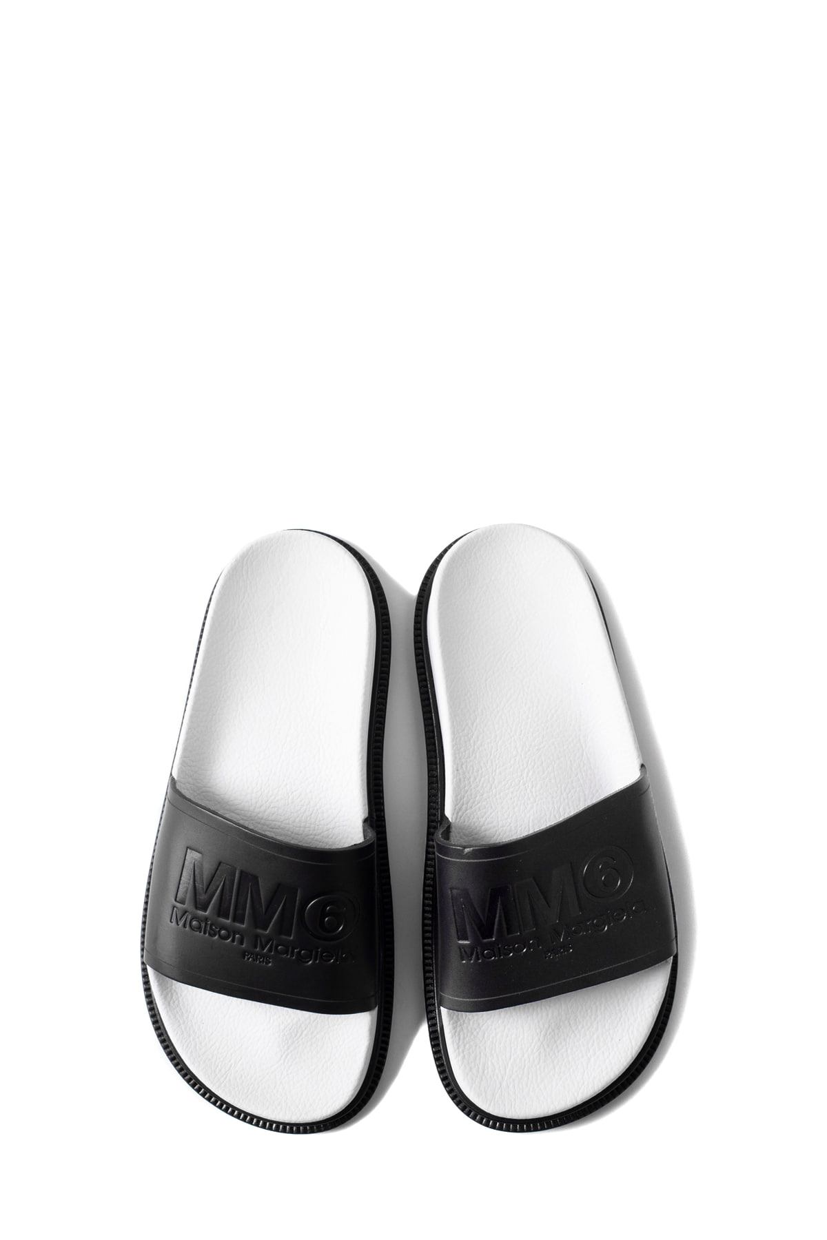 MM6 Maison Margiela : Slipper (Black)