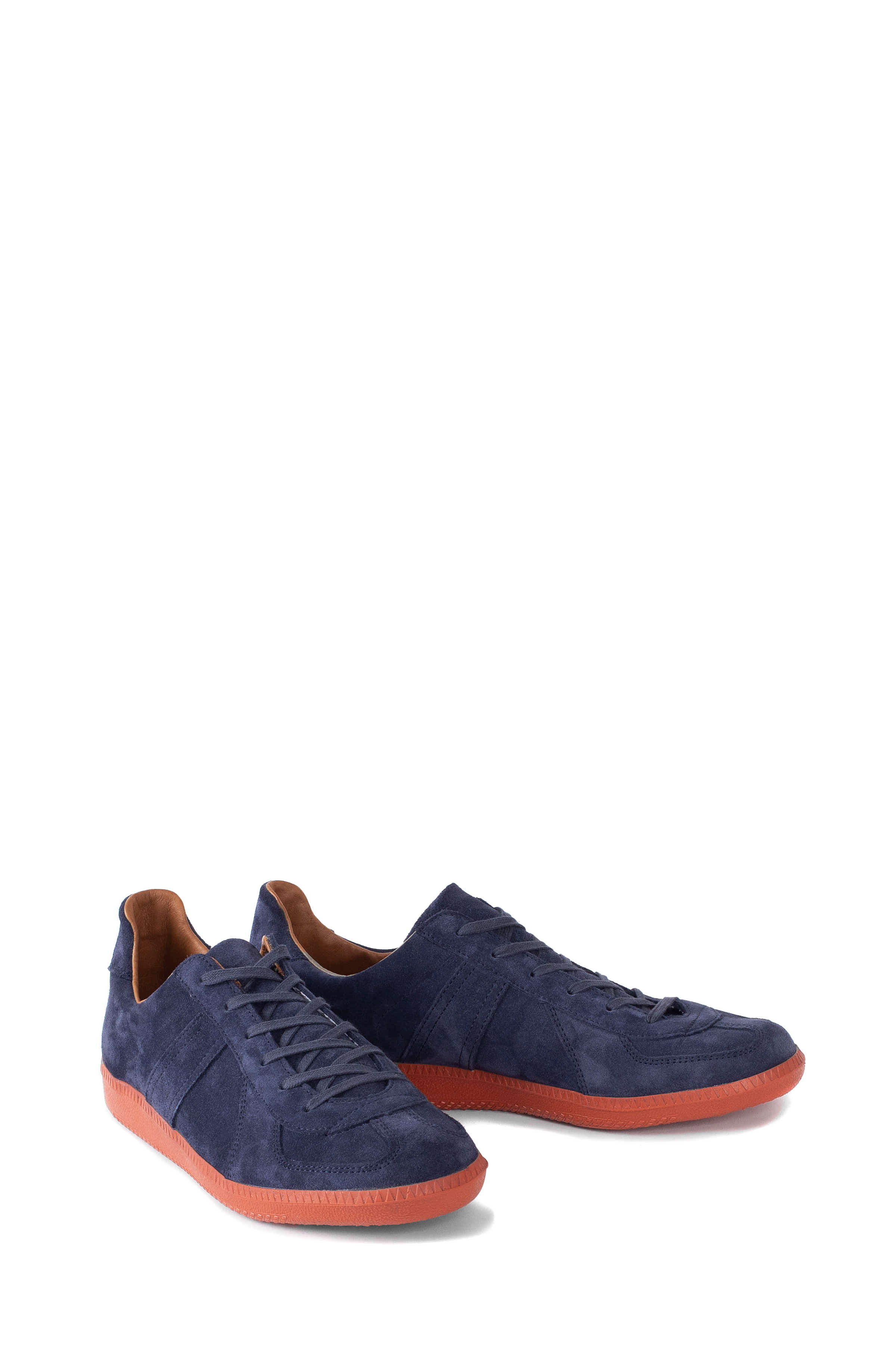 REPRODUCTION OF FOUND : German Military Trainer 1700L (Navy Suede/Brick Sole)