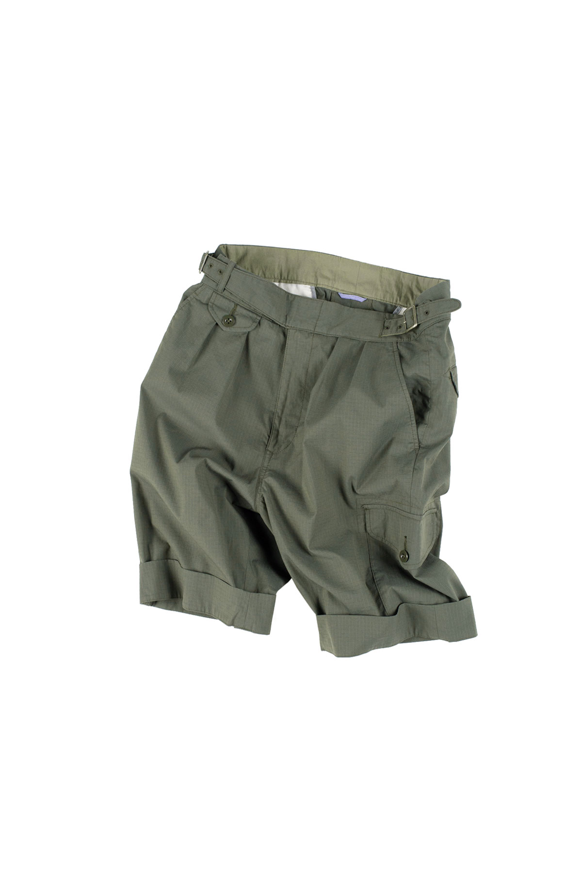 Kenneth Field : Gurka Shorts Coolmax Ripstop (Olive)