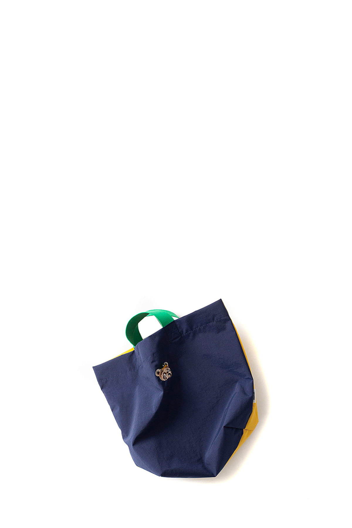 Infielder Design : Cha Cha Bag (Navy Yellow)