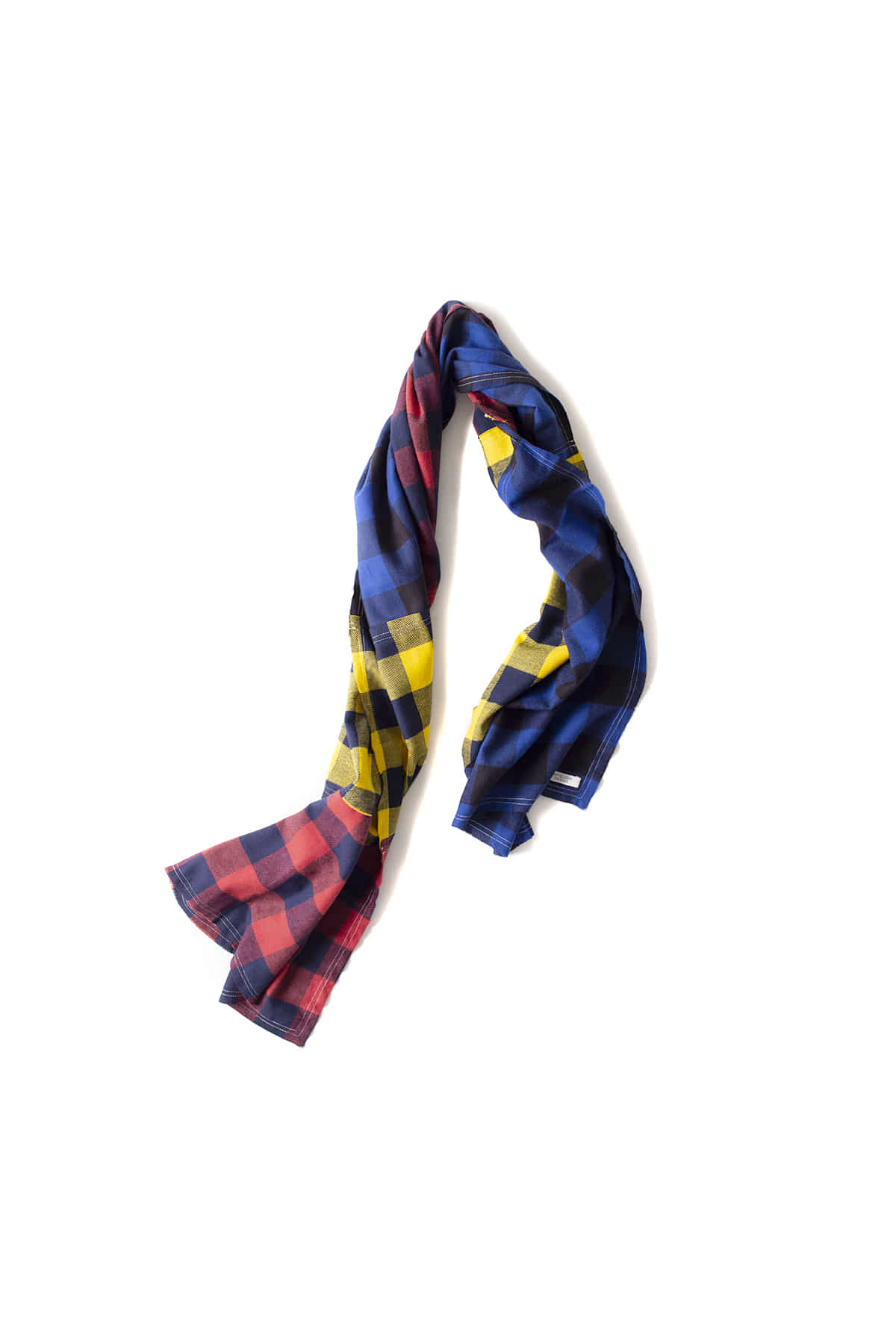 Infielder Design : Check Flannel Stall (Red / Blue / Yellow)