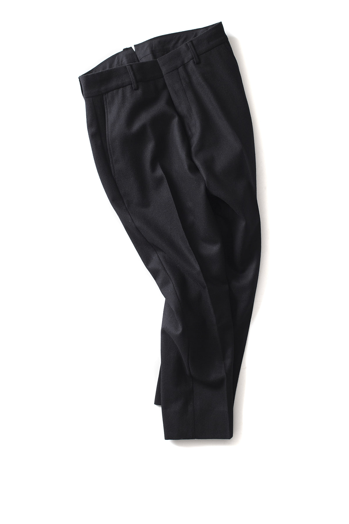 "Bedwin & The Heartbreakers : 9/L Cordura Wool Pants ""JESSEE"" (Black)"