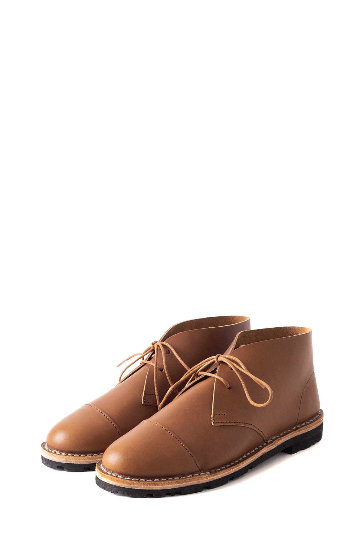 STEVE MONO : Artisanal Short Boot 10/10 (Brown)