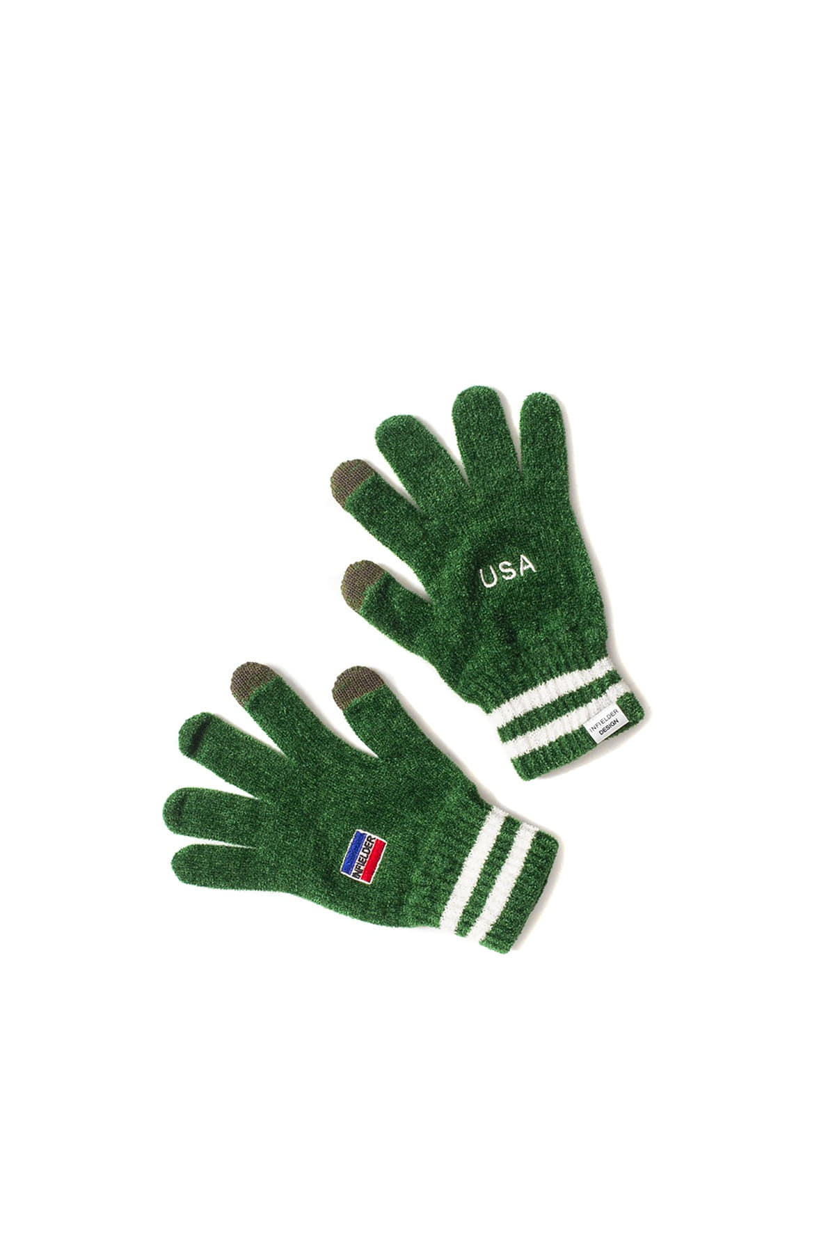 Infielder Design : USA Gloves (Green)