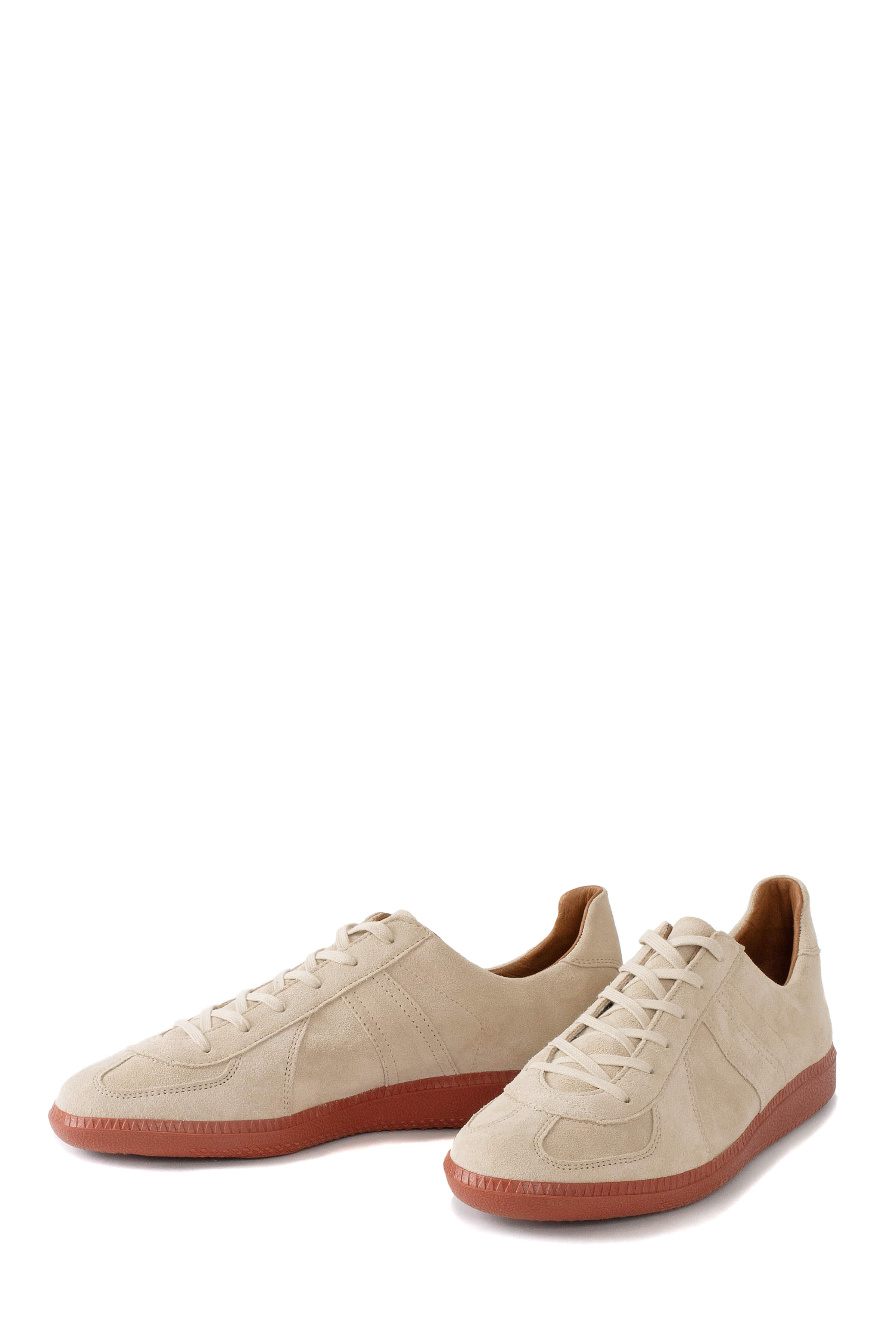 REPRODUCTION OF FOUND : German Military Trainer 1700L (Beige Suede/Brick Sole)