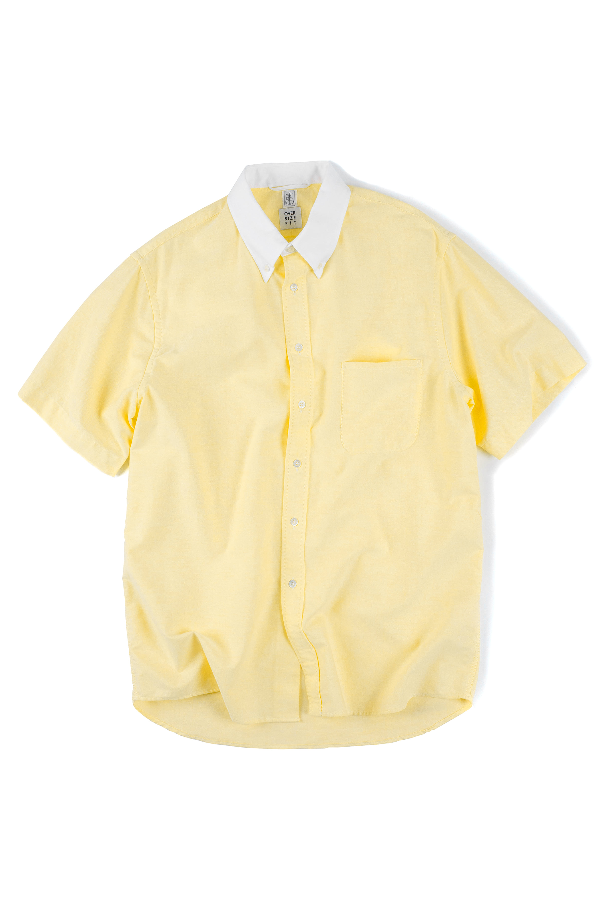 East Harbour Surplus : Campus Button Down Shirts (Yellow)