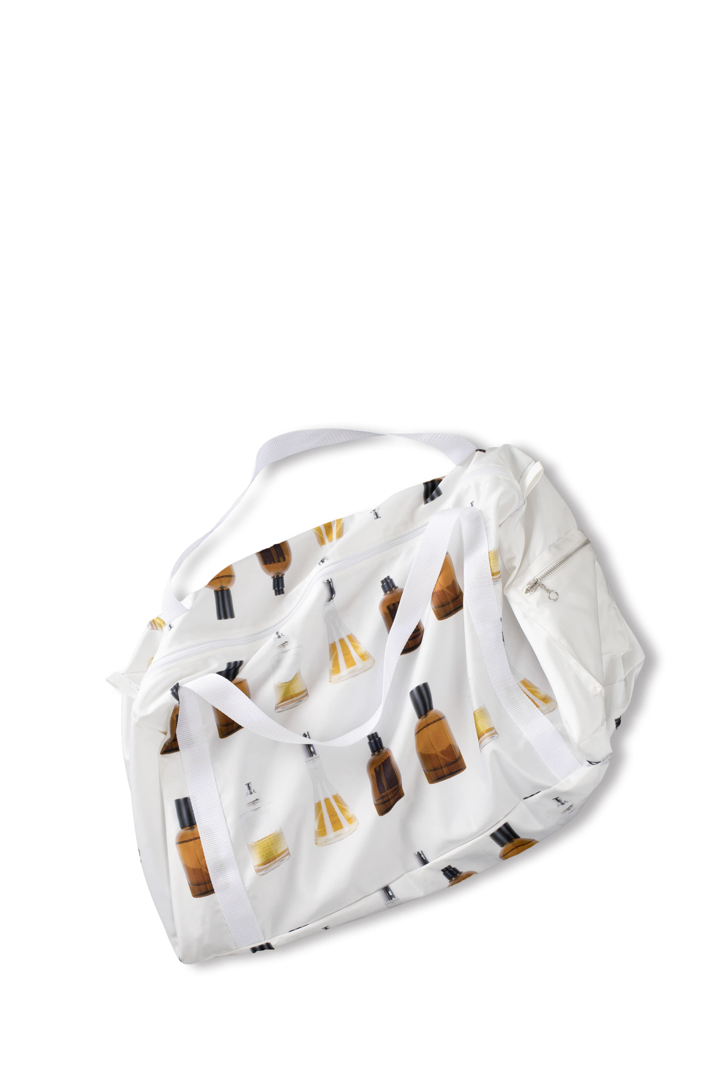 THE MUSEUM VISITOR : Graphic Tote Bag (White)