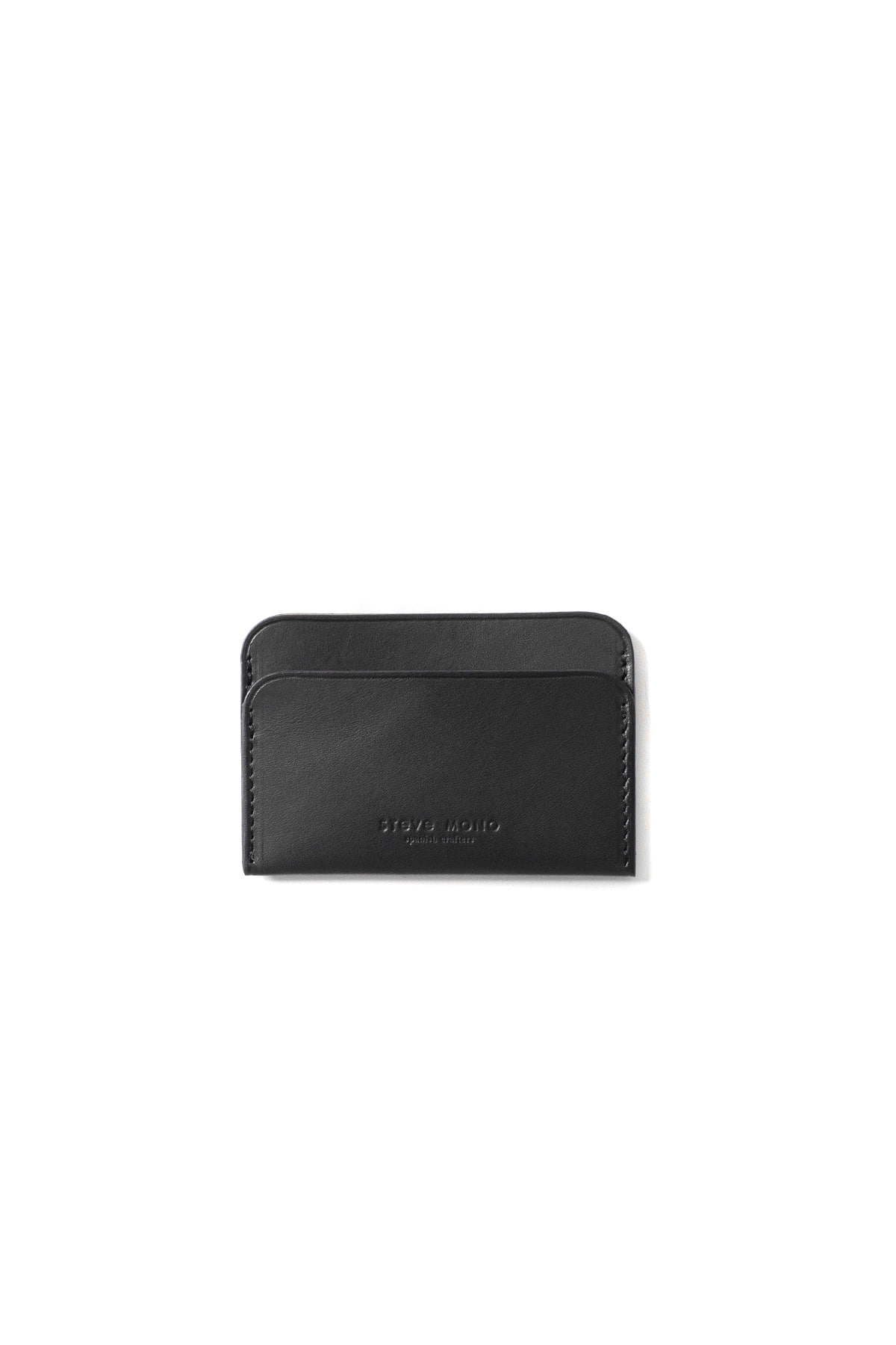 STEVE MONO : 09/8 Classic Cards Holder (Black)