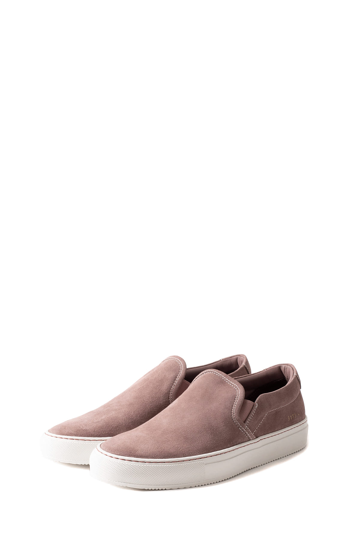 Common Projects : Slip On In Suede 5173 (Blush)