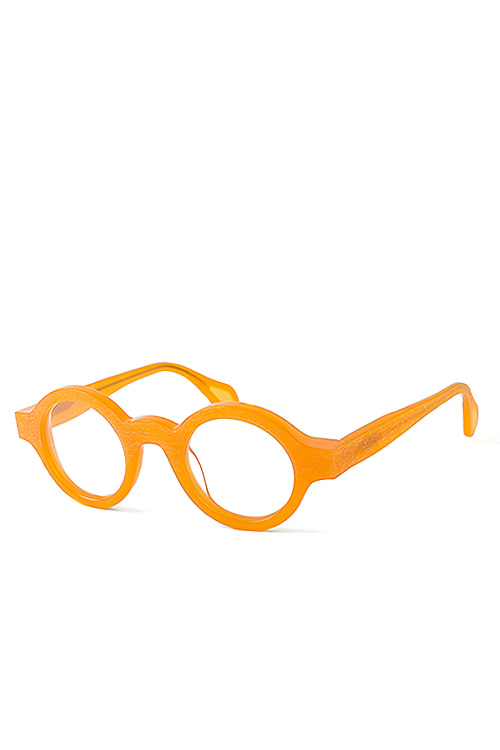 theo : Mille+11 029 Orange Transp (Wooden / Shine)
