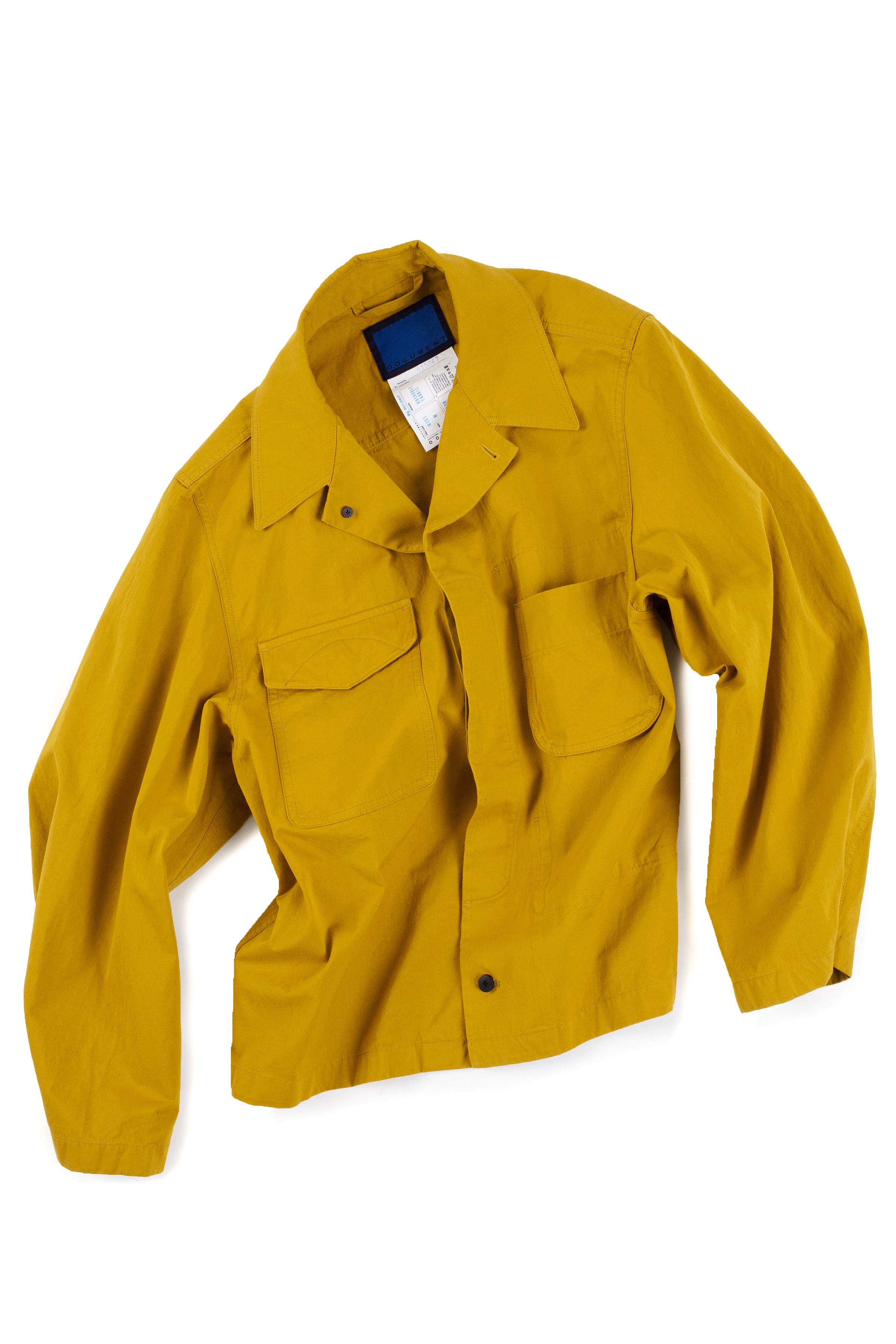 Document : Field Shirting Jacket (Yellow Mustard)