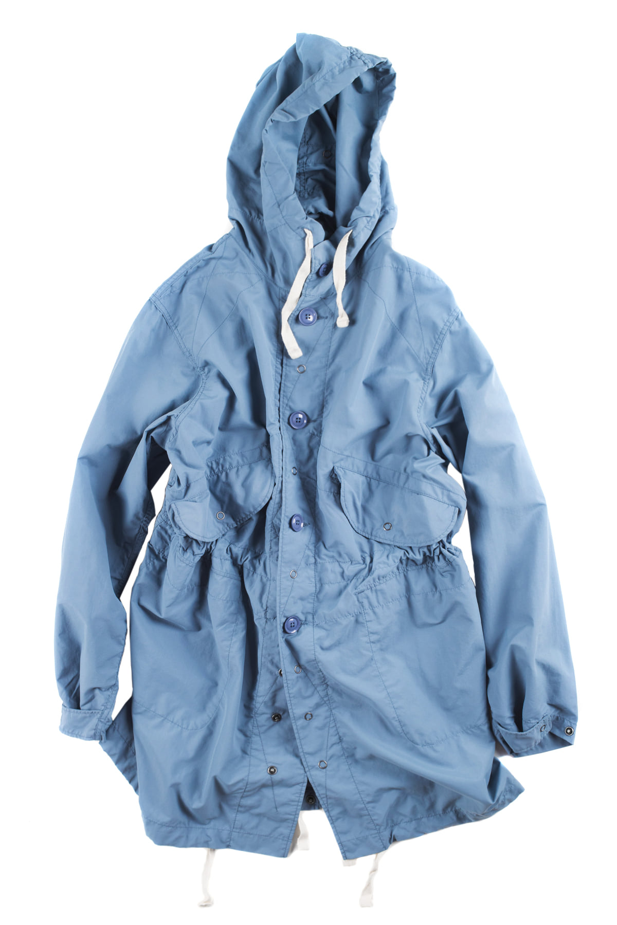 Engineered Garments : Highland Parka (Blue)