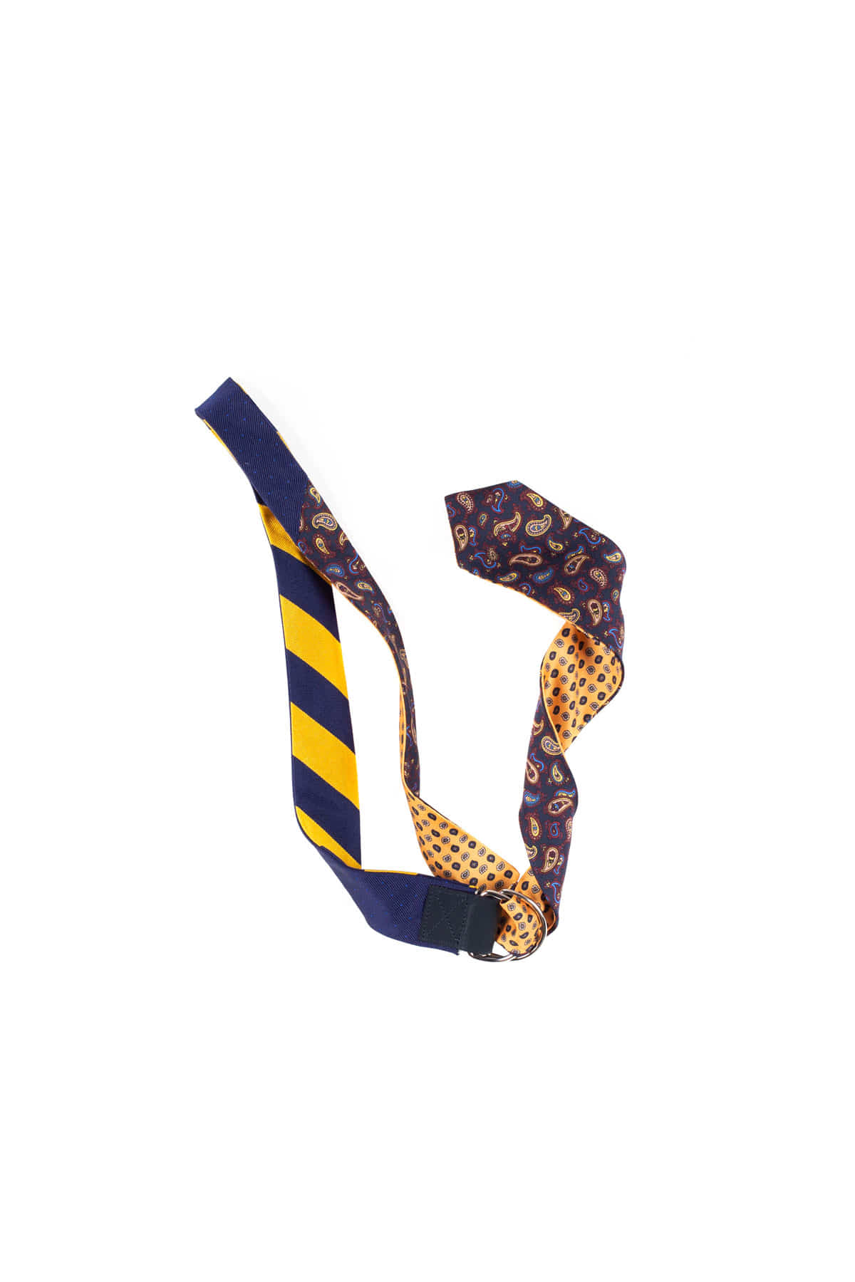 Kenneth Field : Remake Tie Belt (Navy)