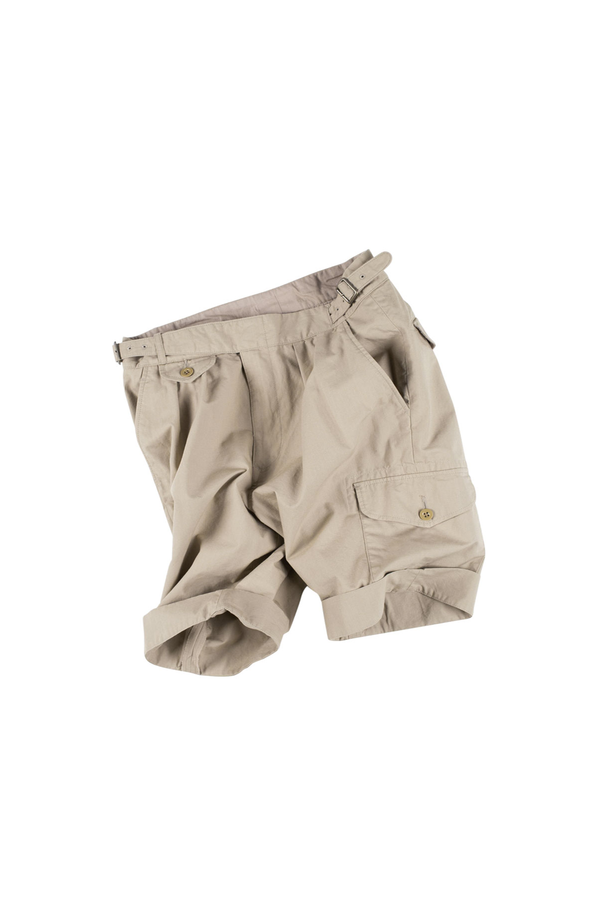 Kenneth Field : Gurka Shorts Ripstop (Beige)