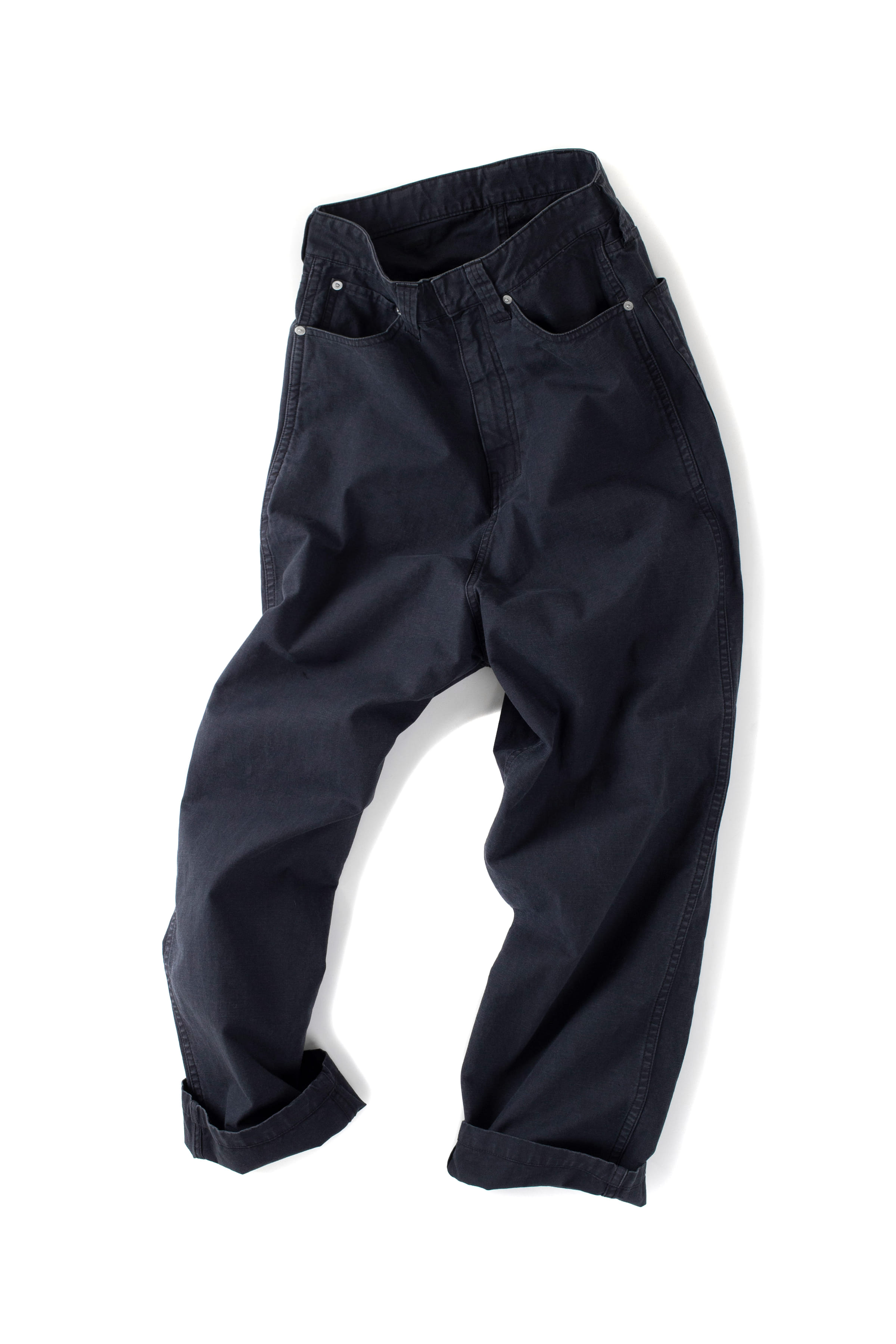 CLAMP : Crown Denim Pants (Black)