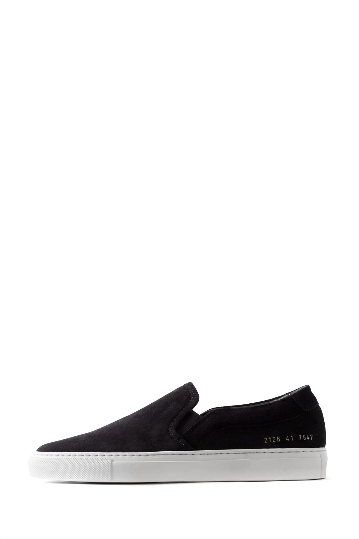 Common Projects : Silp On in Suede 2126 (Black)