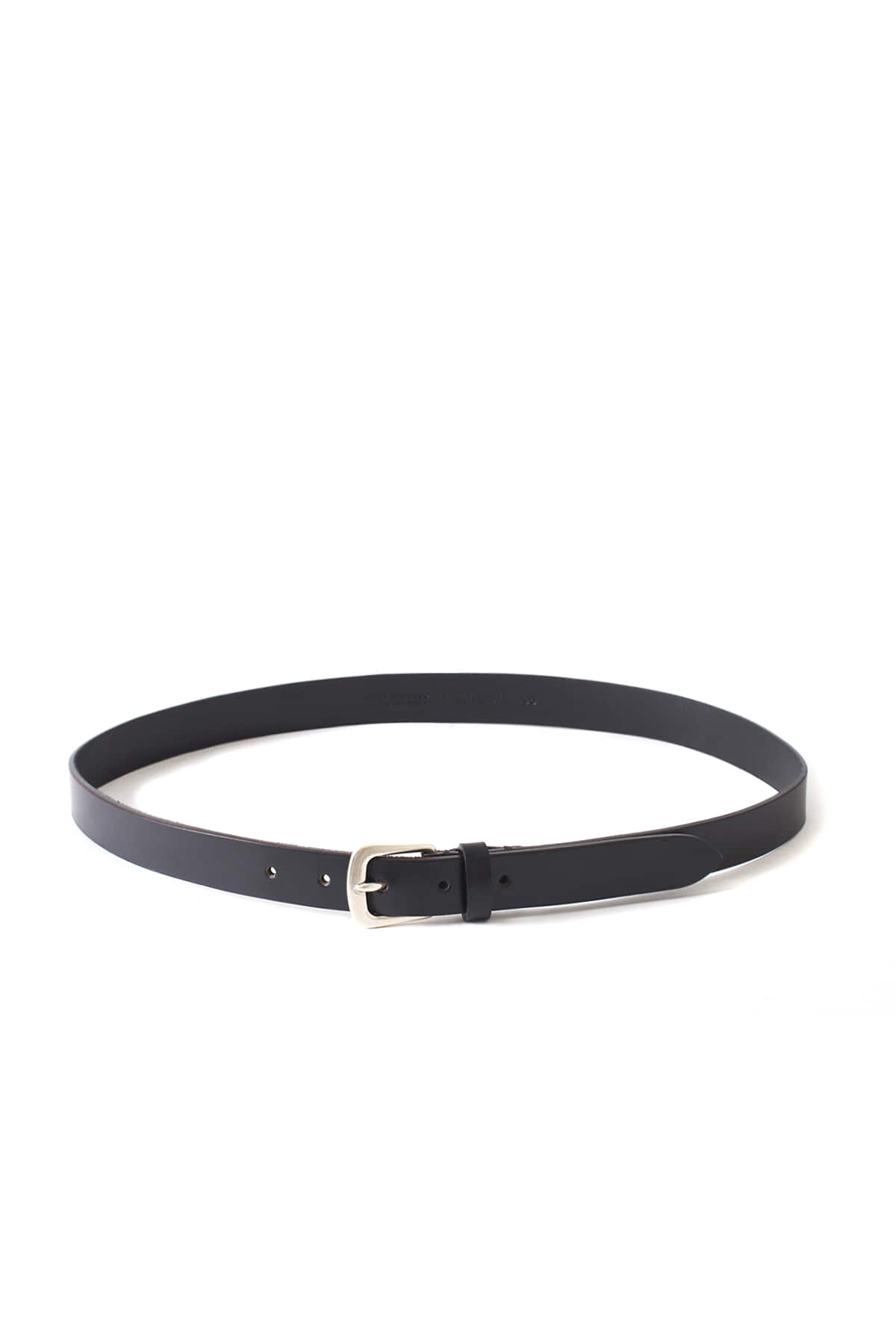 ANDREA GRECO : Dakota Calf Leather Belt (Nero)