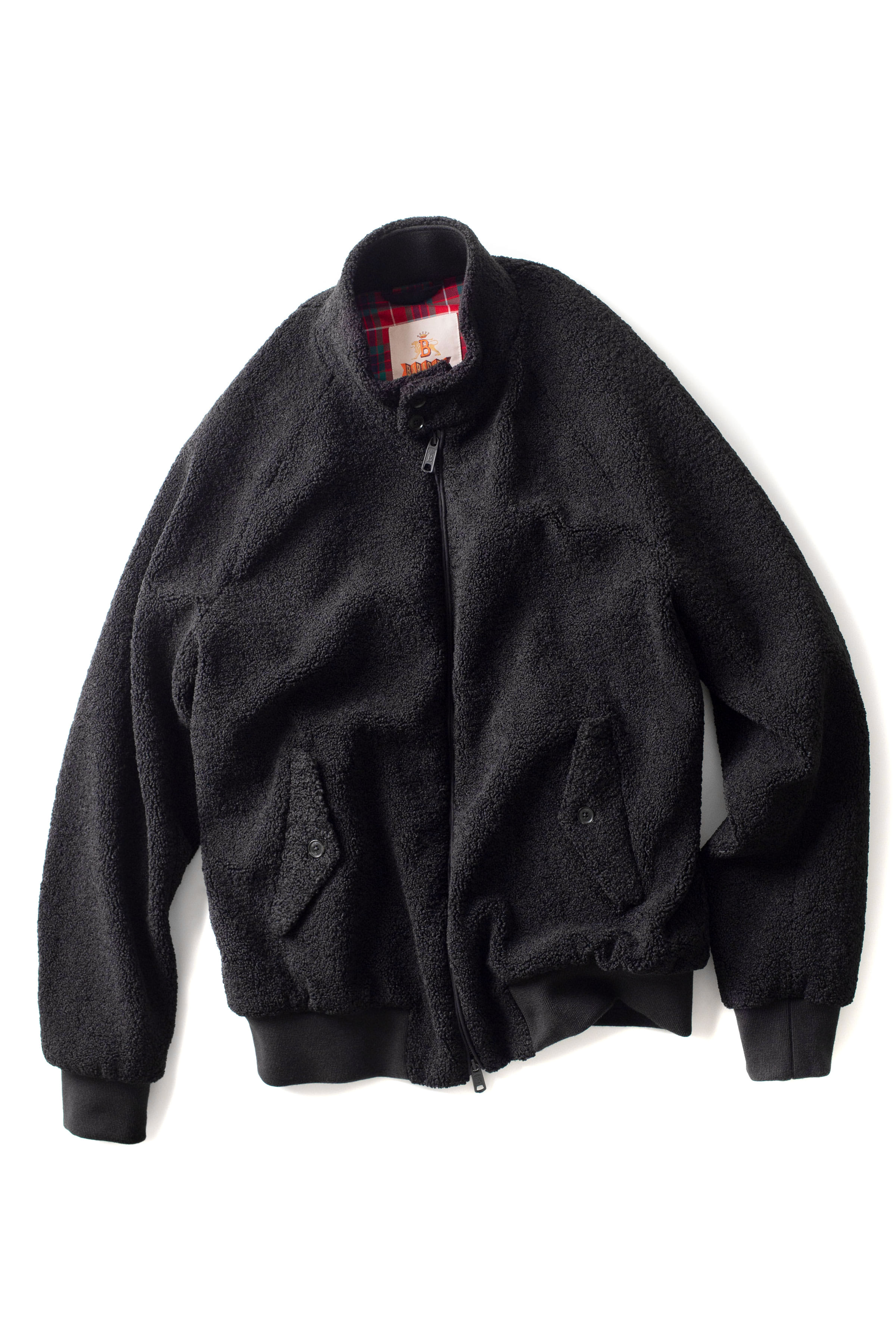 Baracuta x Engineered Garments : Teddy Bear Daiki (Black)