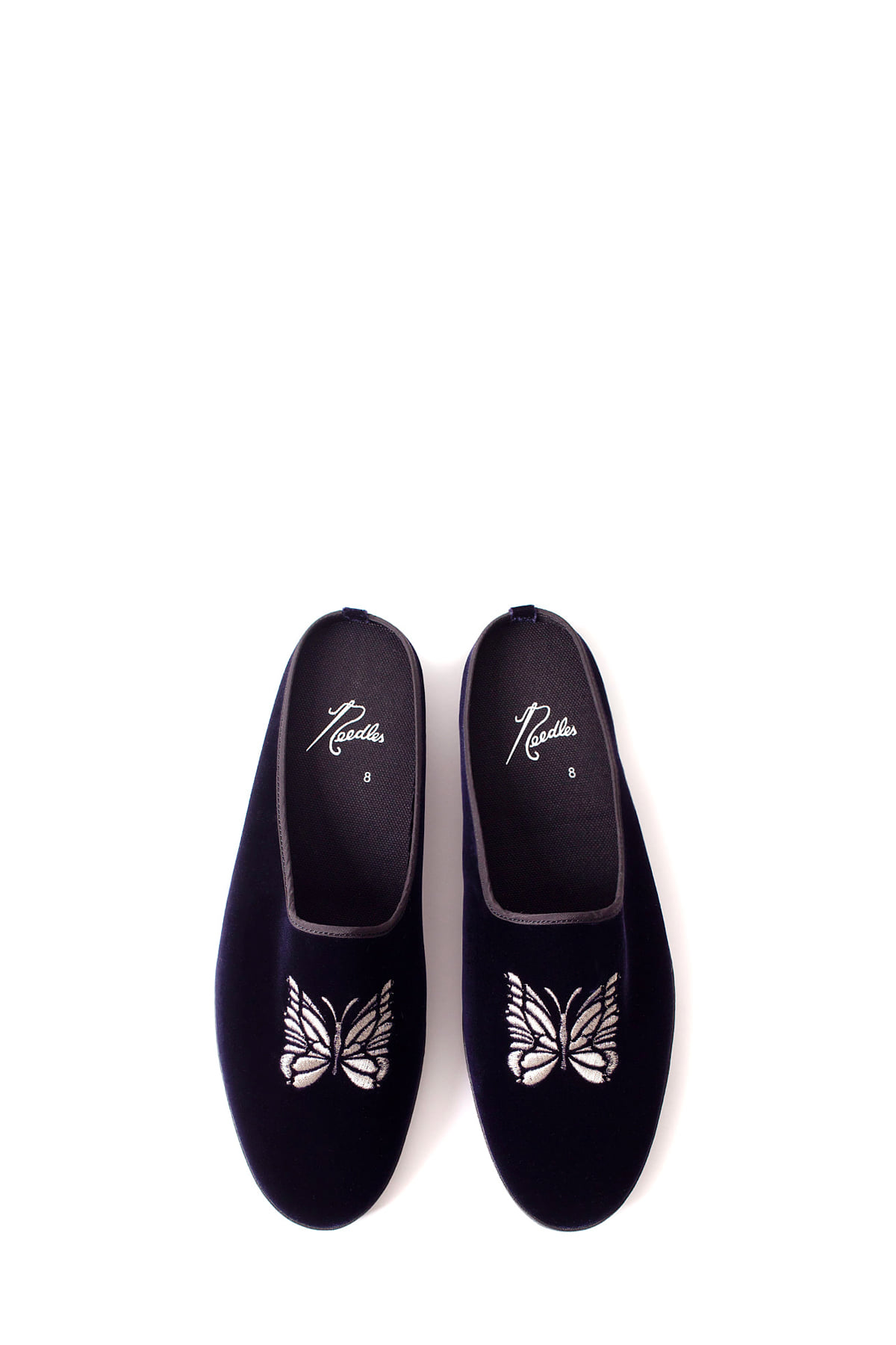 NEEDLES : Papillon Emb (Navy)