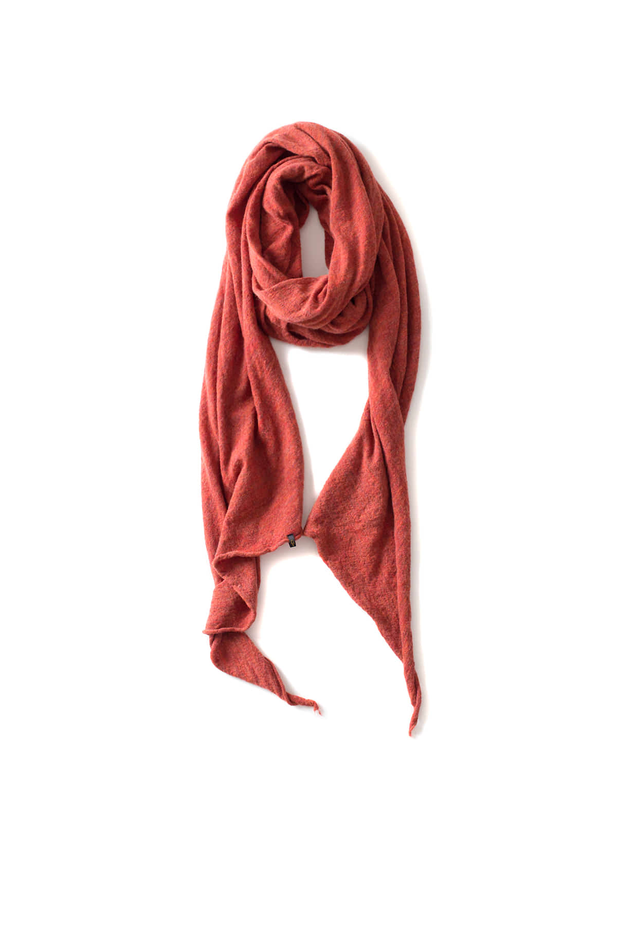 RYU : Washable Wool Gauze Stole (Orange)