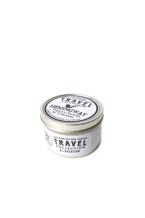 Ampersand Fine Candles : Travel Series (Hemingway : 8oz)