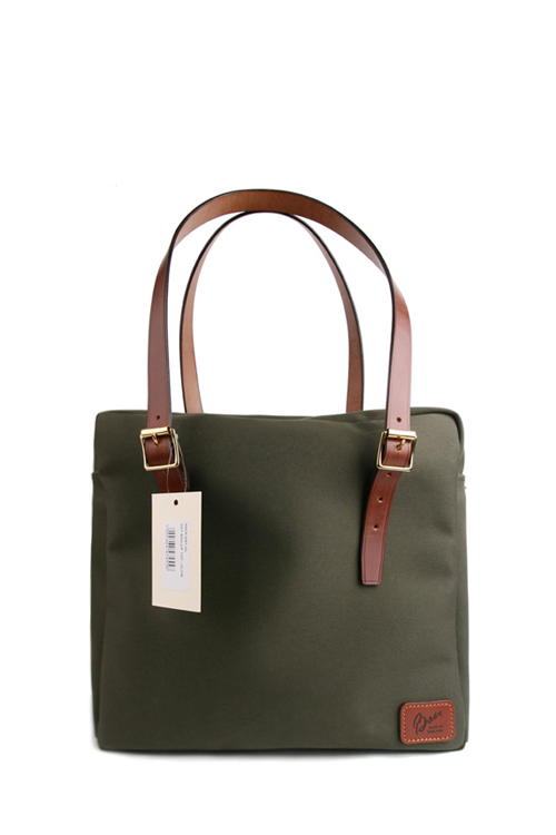 Brady Bags : Zip Top Day Bag (Olive)